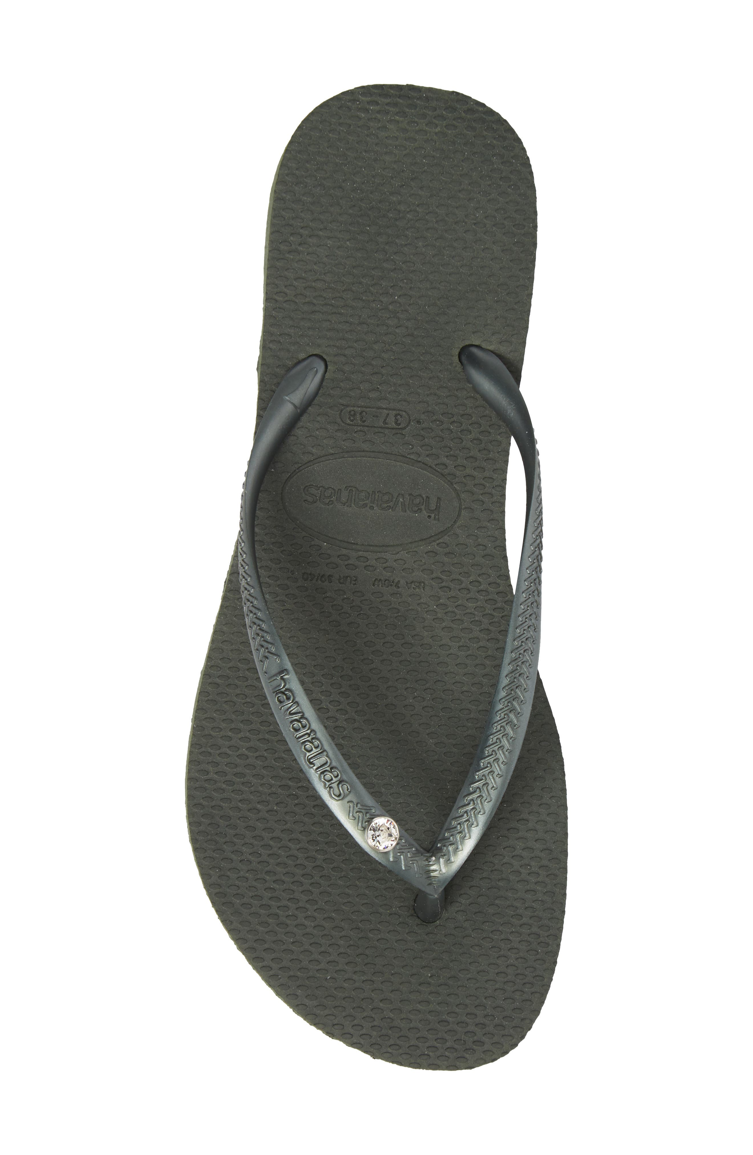 Alternate Image 5  - Havaianas 'Slim Crystal Glamour' Flip Flop (Women)