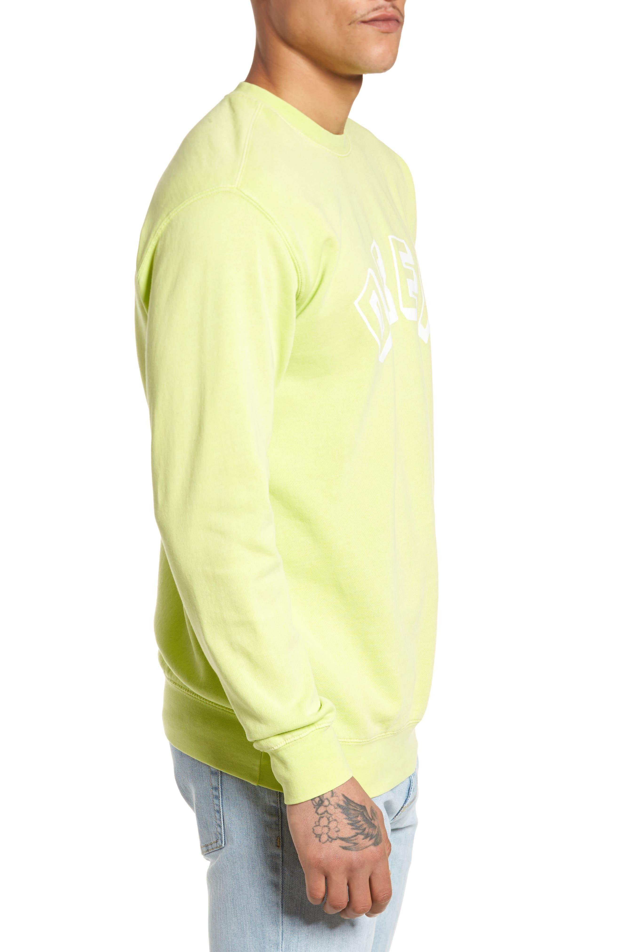 New World Sweatshirt,                             Alternate thumbnail 3, color,                             Dusty Mint