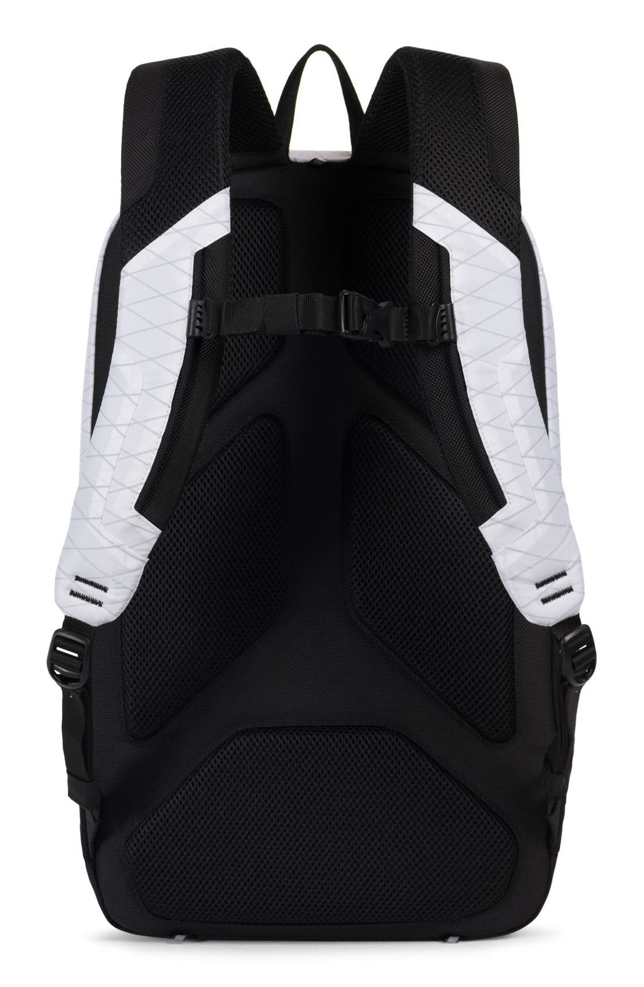 Trail Sailcloth Mammoth Large Backpack,                             Alternate thumbnail 2, color,                             White/ Black