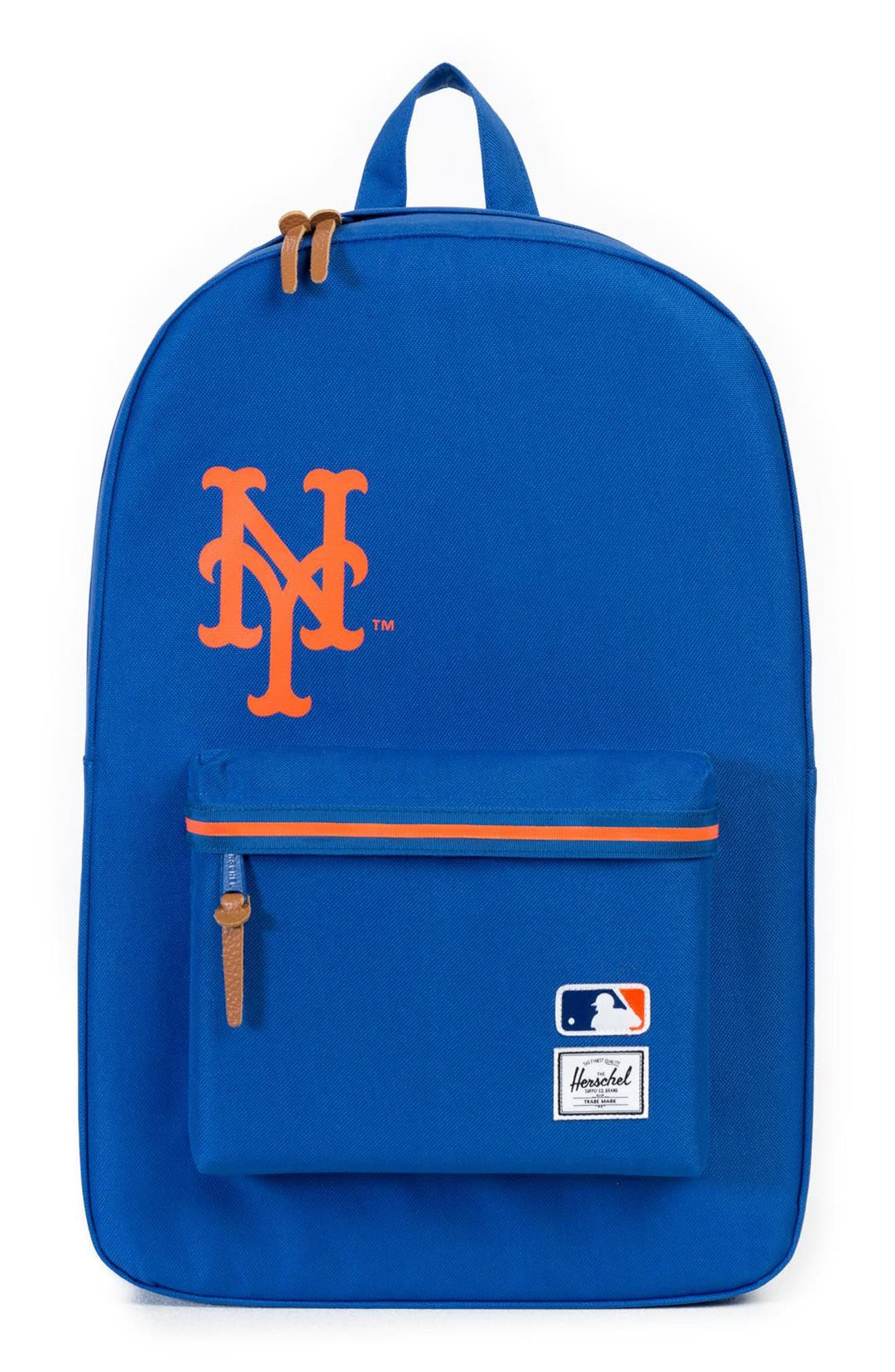 Heritage - MLB National League Backpack,                             Main thumbnail 1, color,                             New York Mets