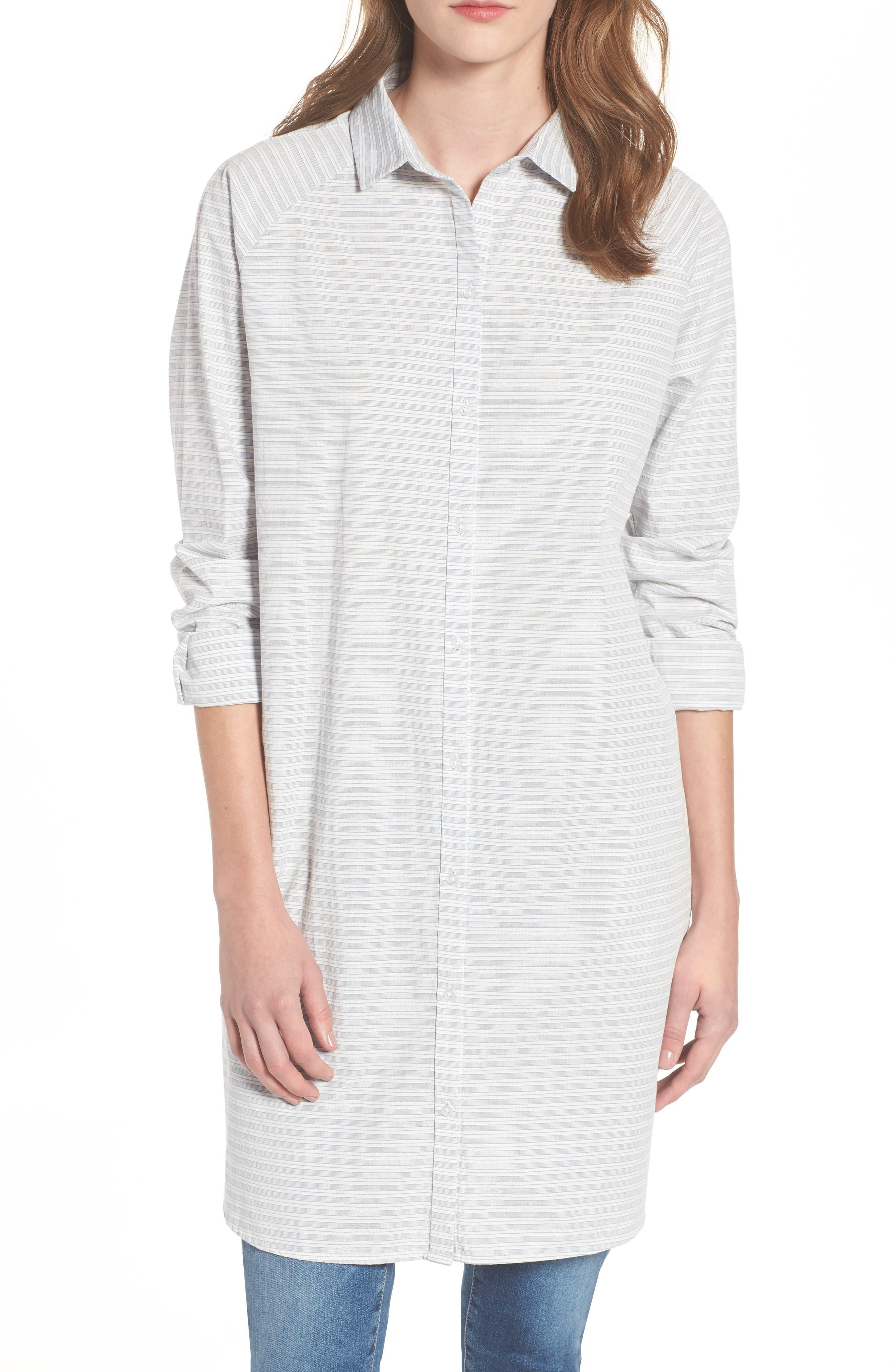 Barbour Betty Longline Stripe Shirt