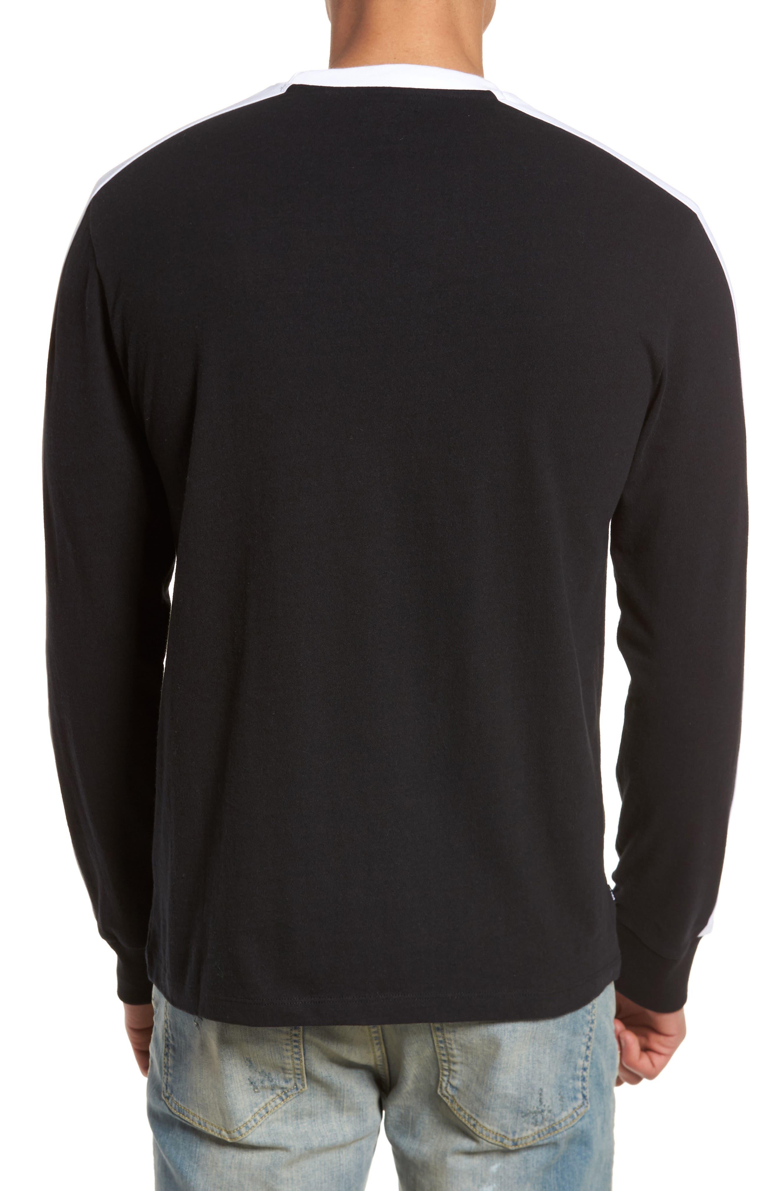 Borstal T-Shirt,                             Alternate thumbnail 2, color,                             Black