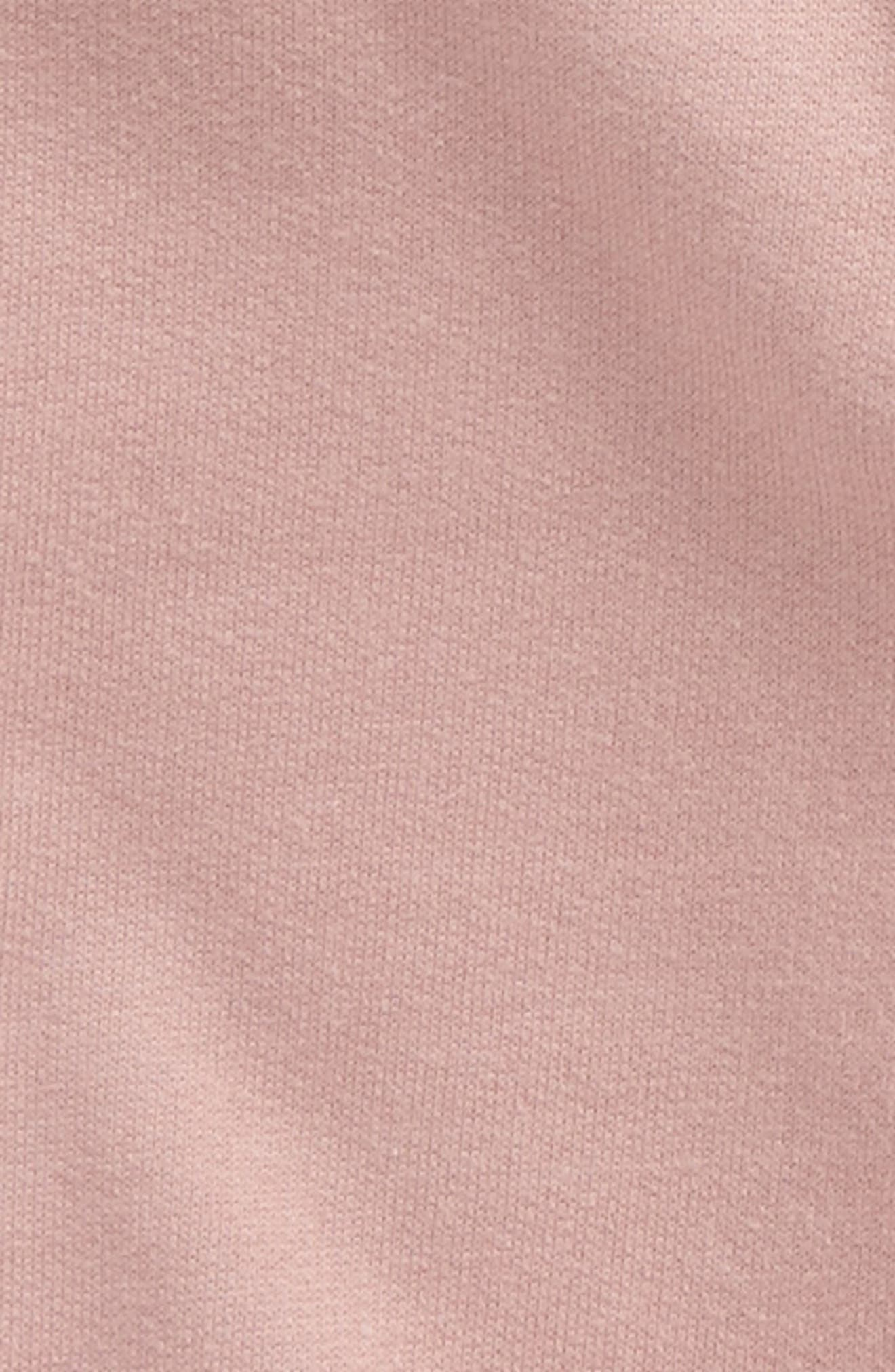 Alternate Image 2  - City Mouse Organic Cotton Jogger Pants (Baby Girls)
