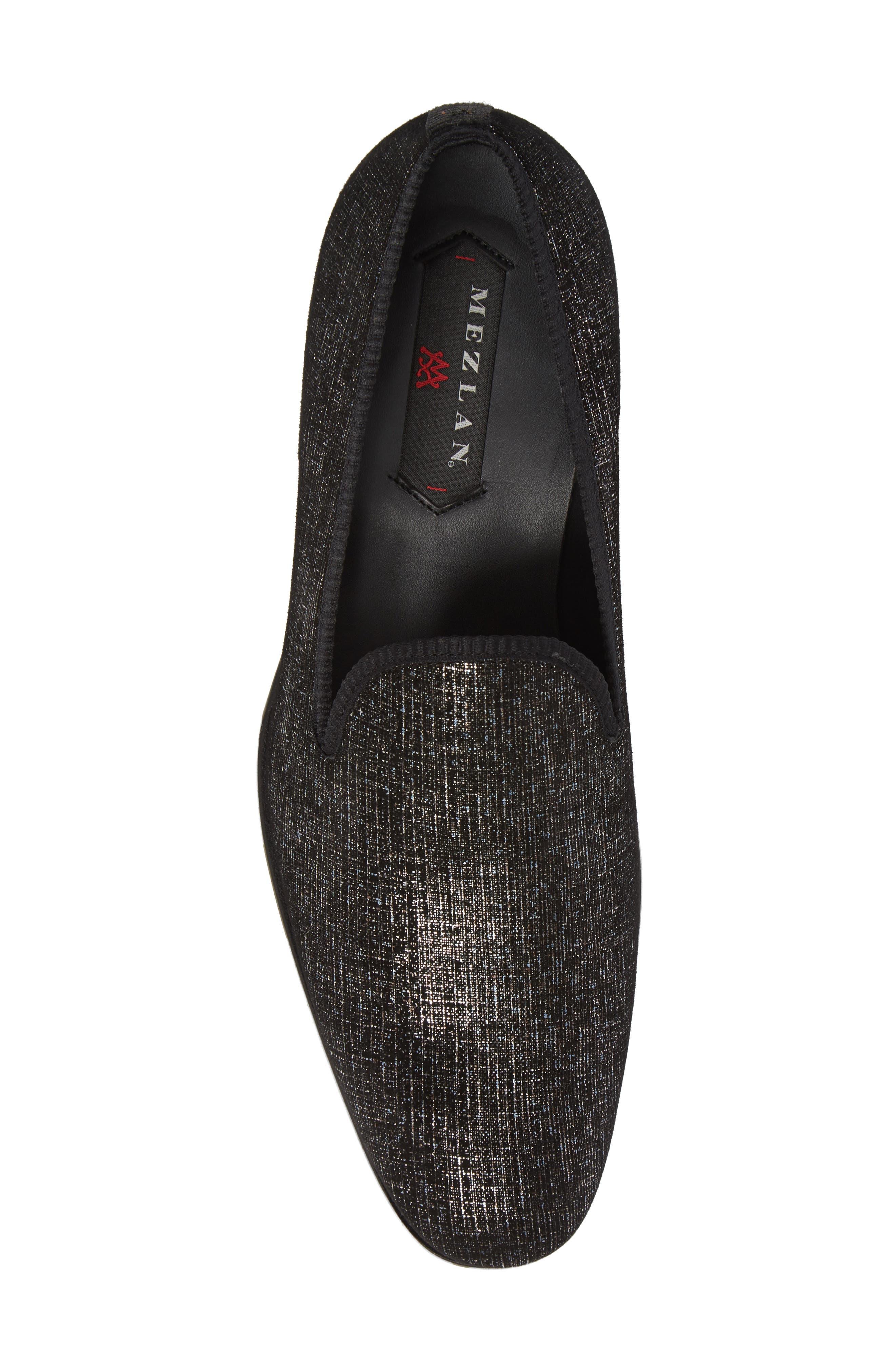 Belona Venetian Loafer,                             Alternate thumbnail 5, color,                             Grey Suede