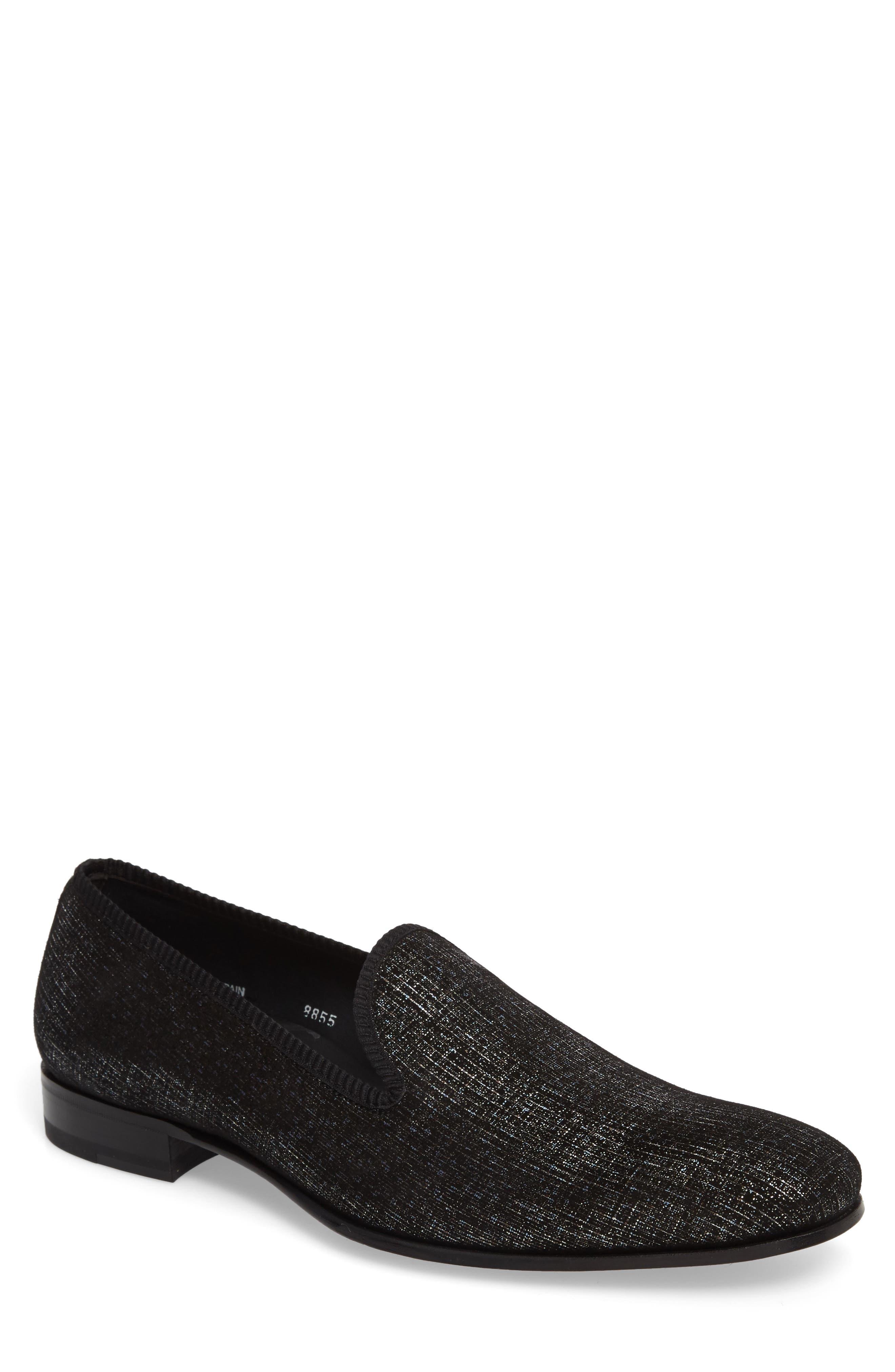 Belona Venetian Loafer,                         Main,                         color, Grey Suede