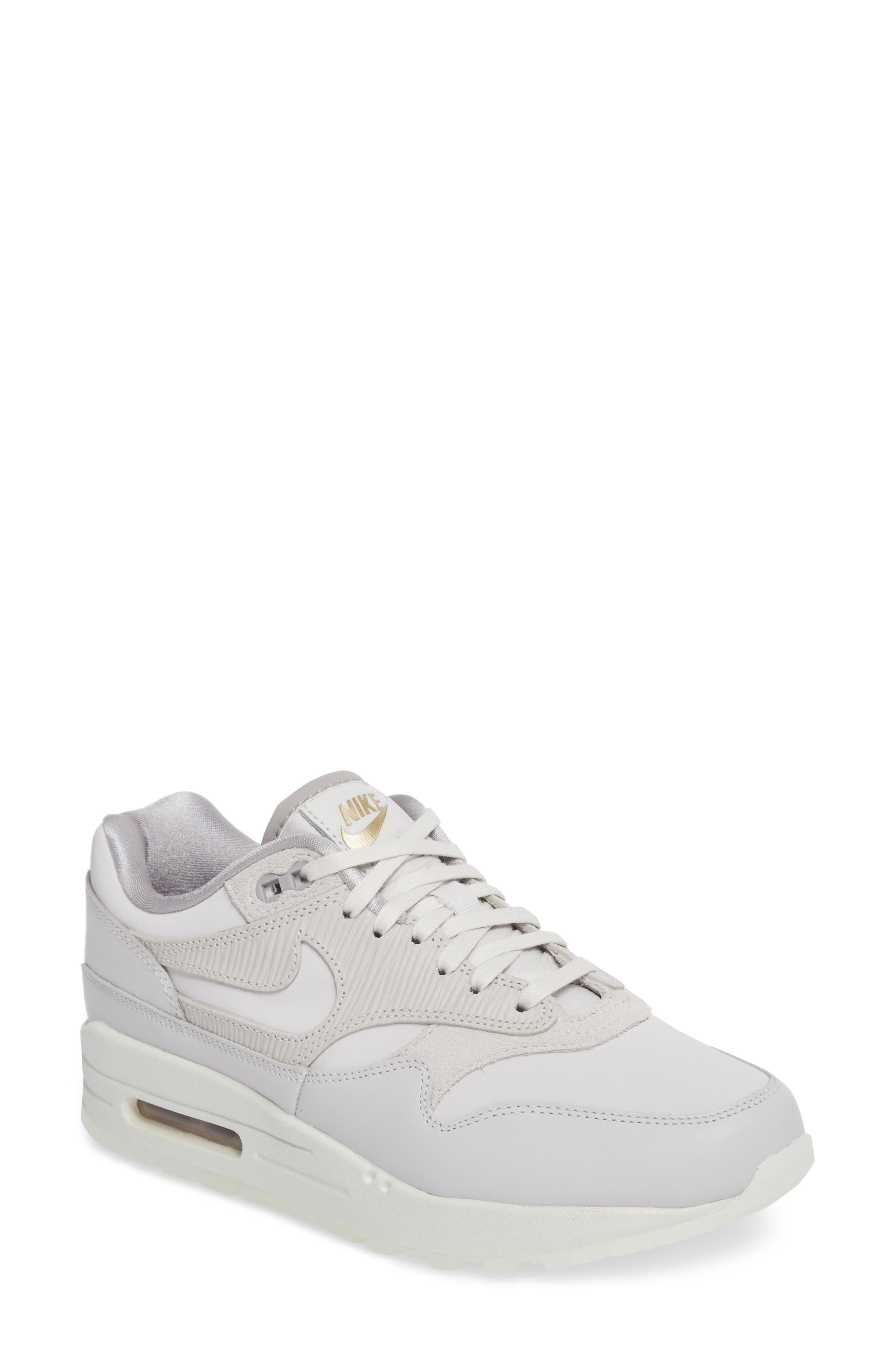 Alternate Image 1 Selected - Nike Air Max 1 Premium Sneaker (Women)