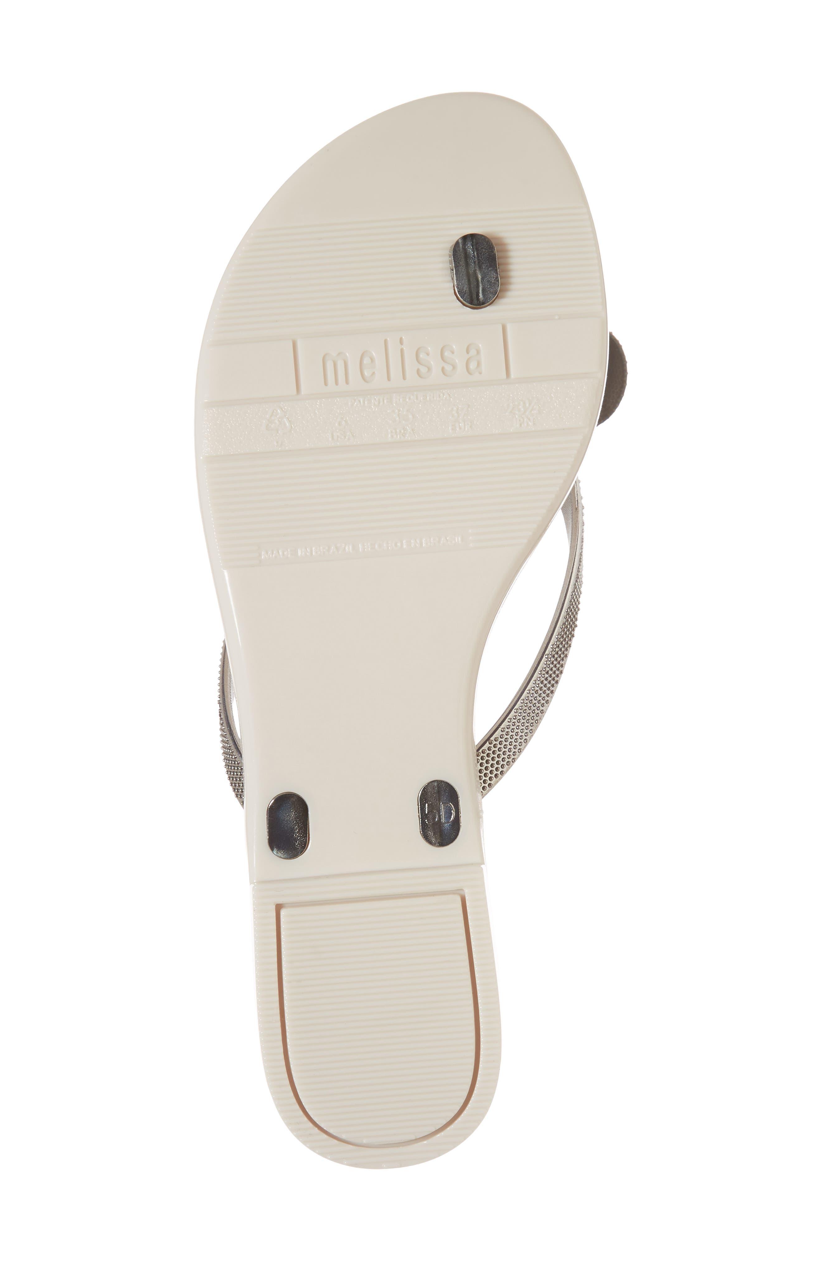 Alternate Image 6  - Melissa Harmonic Bow Chrome II Sandal (Women)