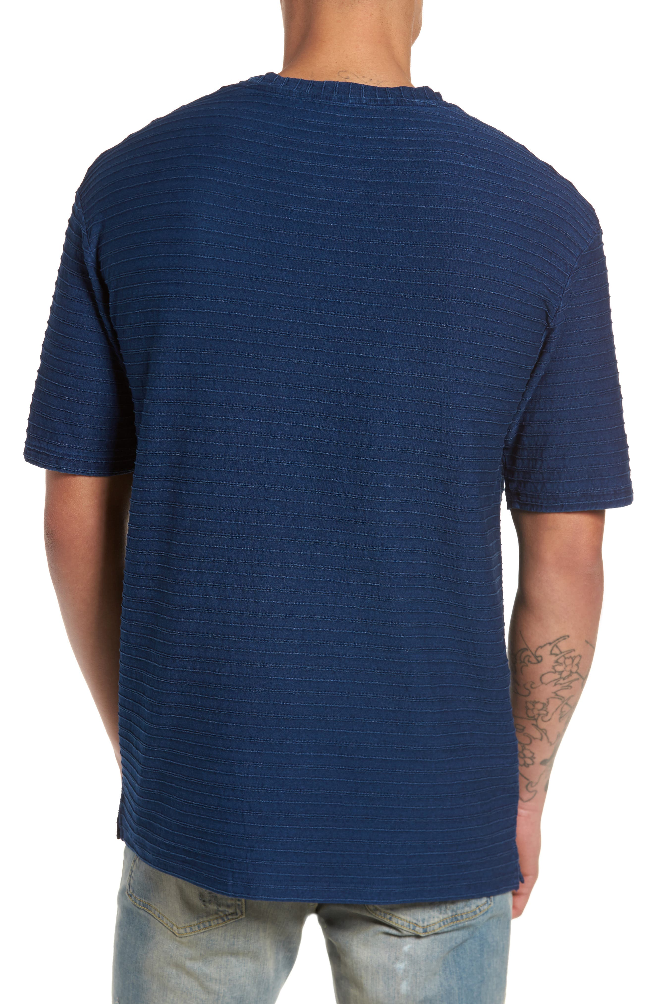 Tidal T-Shirt,                             Alternate thumbnail 2, color,                             Indigo