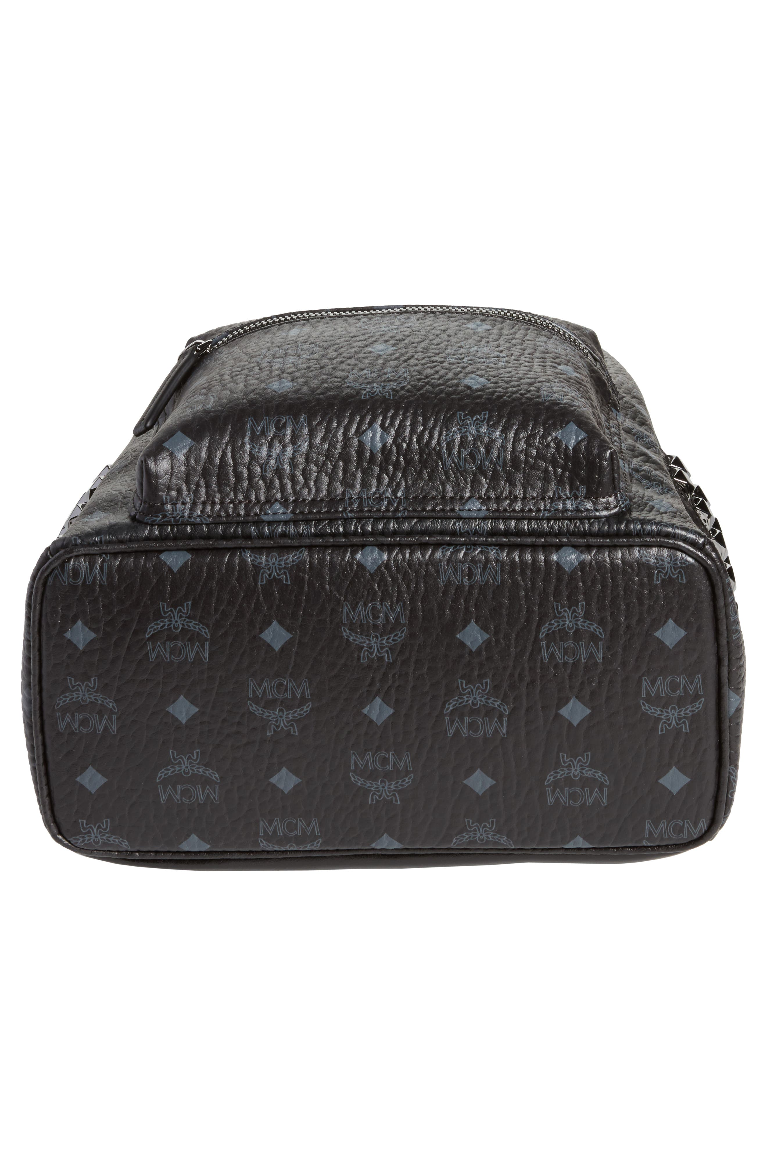 Small Stark Side Stud Backpack,                             Alternate thumbnail 6, color,                             Black