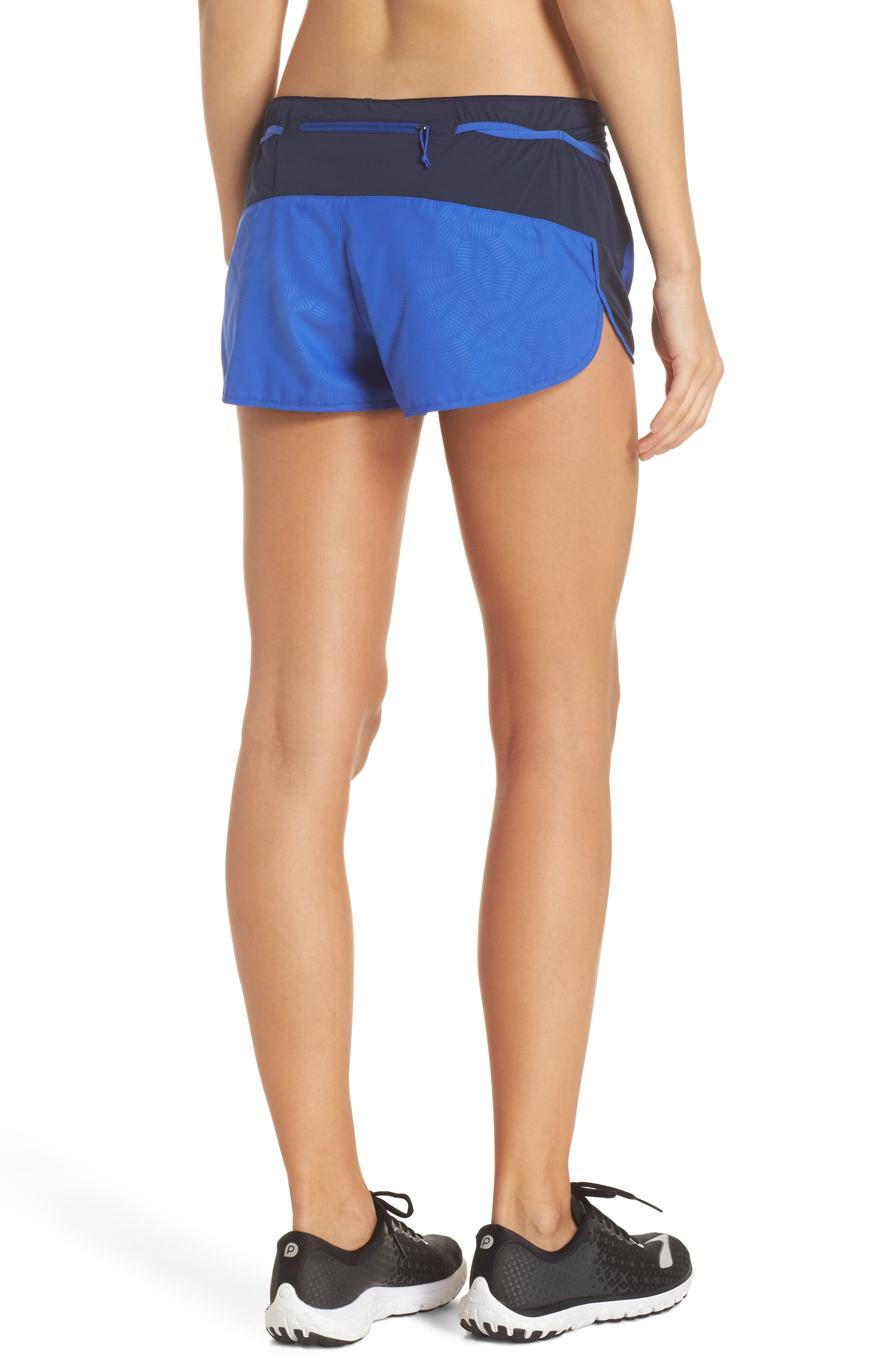 Strider Pro Trail Running Shorts,                             Alternate thumbnail 2, color,                             Hexy - Imperial Blue