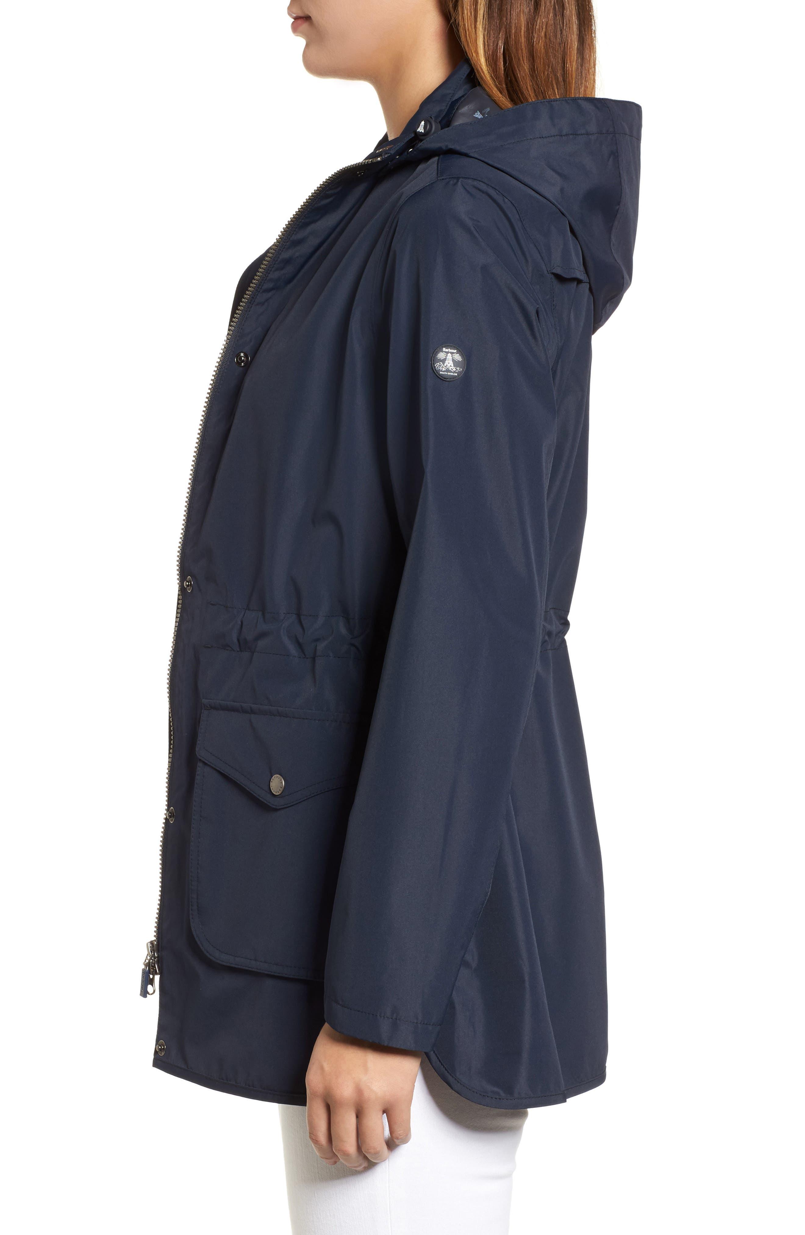 Studland Waterproof Jacket,                             Alternate thumbnail 5, color,                             Navy