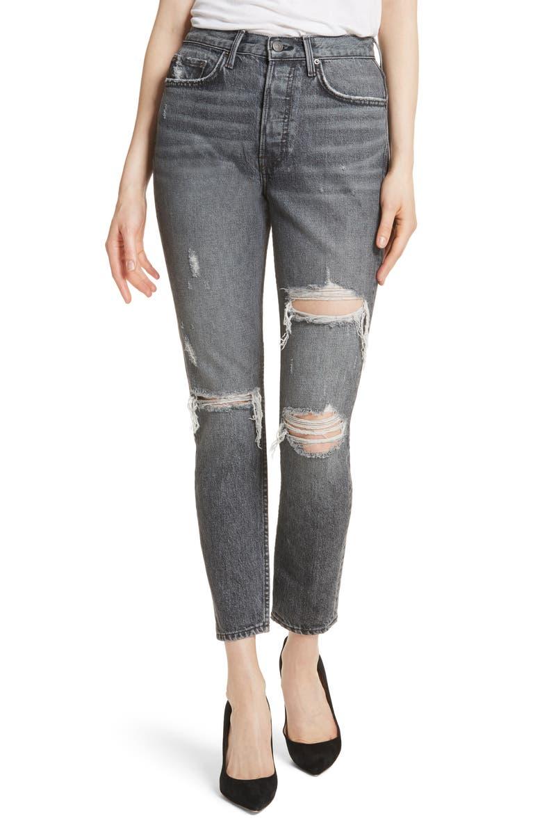 Karolina High Waist Skinny Jeans
