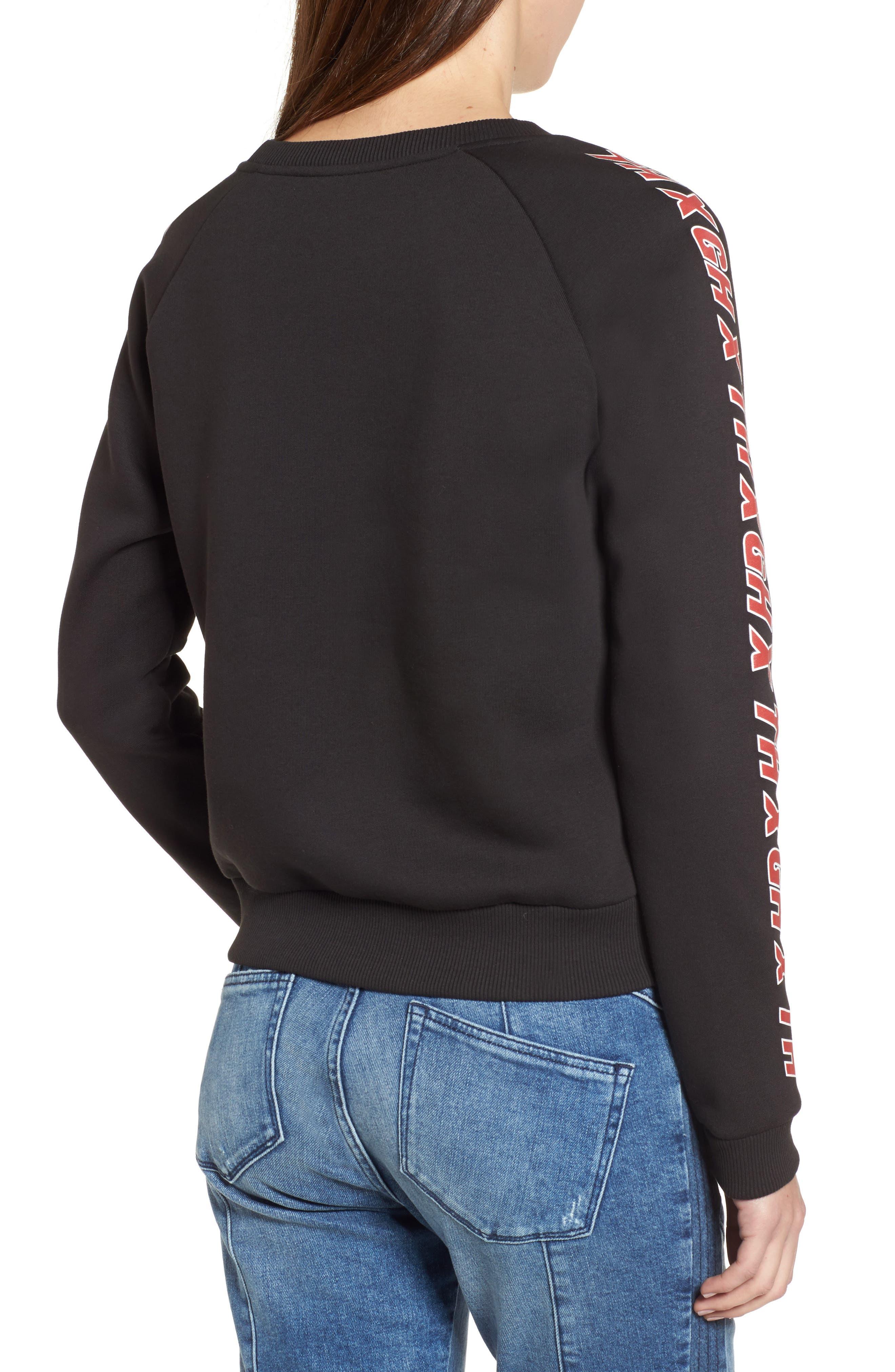 Alternate Image 2  - TOMMY JEANS x Gigi Hadid Team Sweatshirt