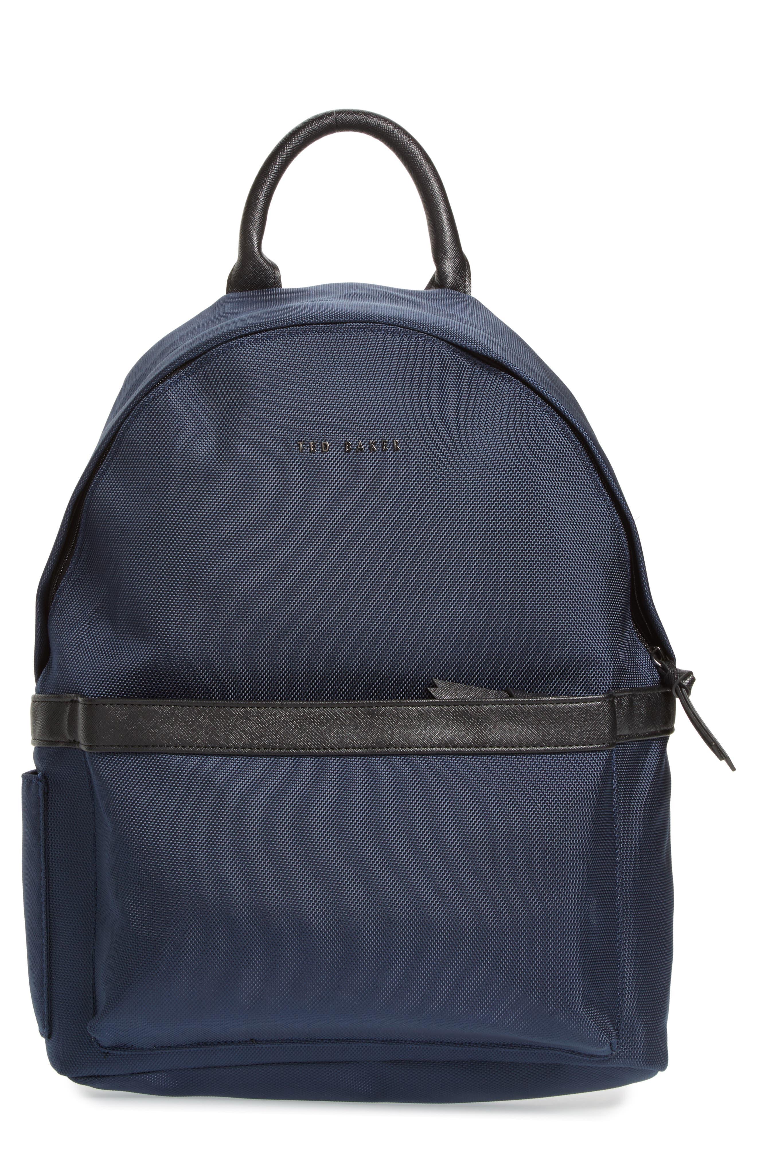 Radio Backpack,                         Main,                         color, Navy