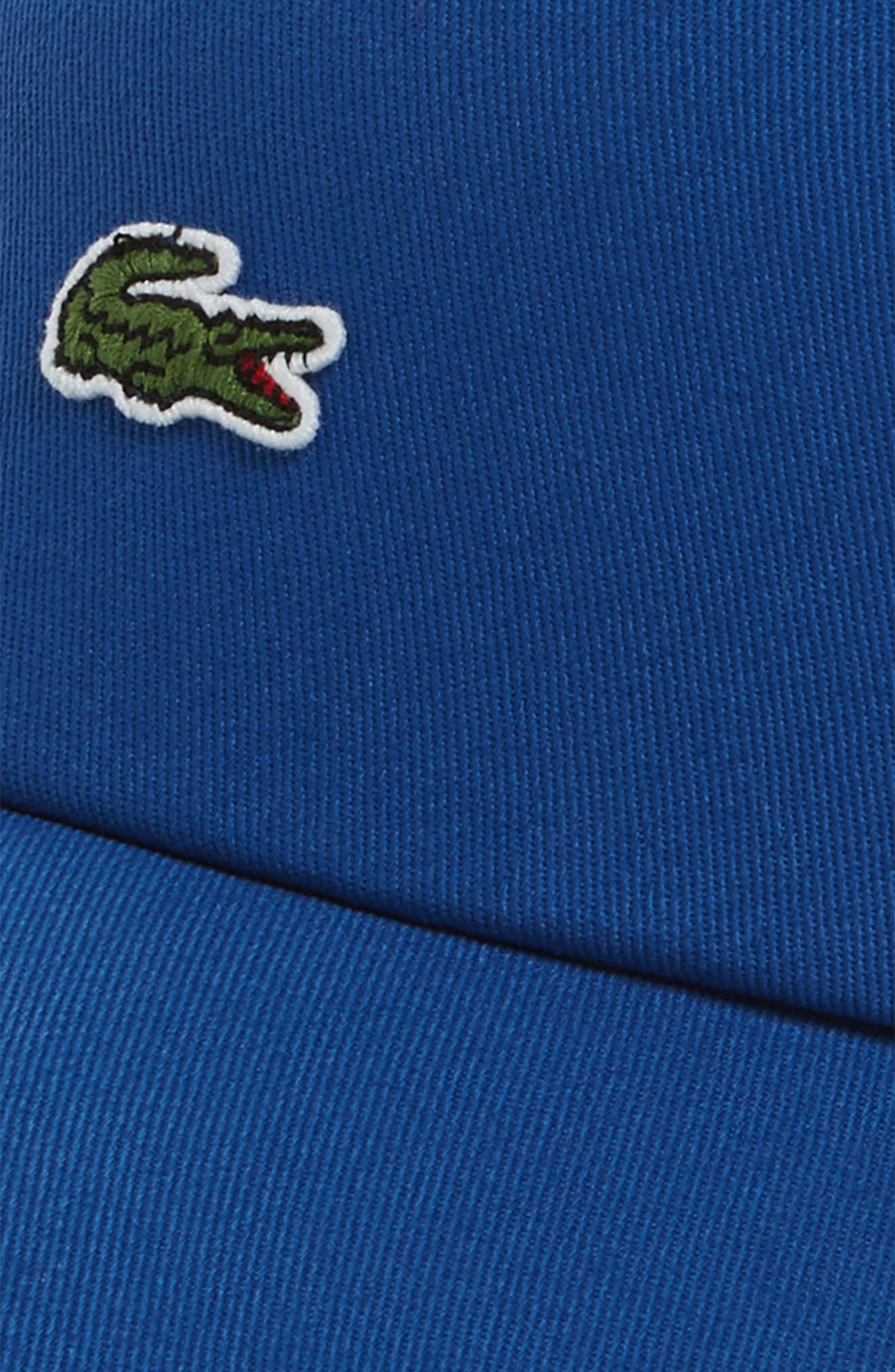 Small Croc Baseball Cap,                             Alternate thumbnail 3, color,                             Electric