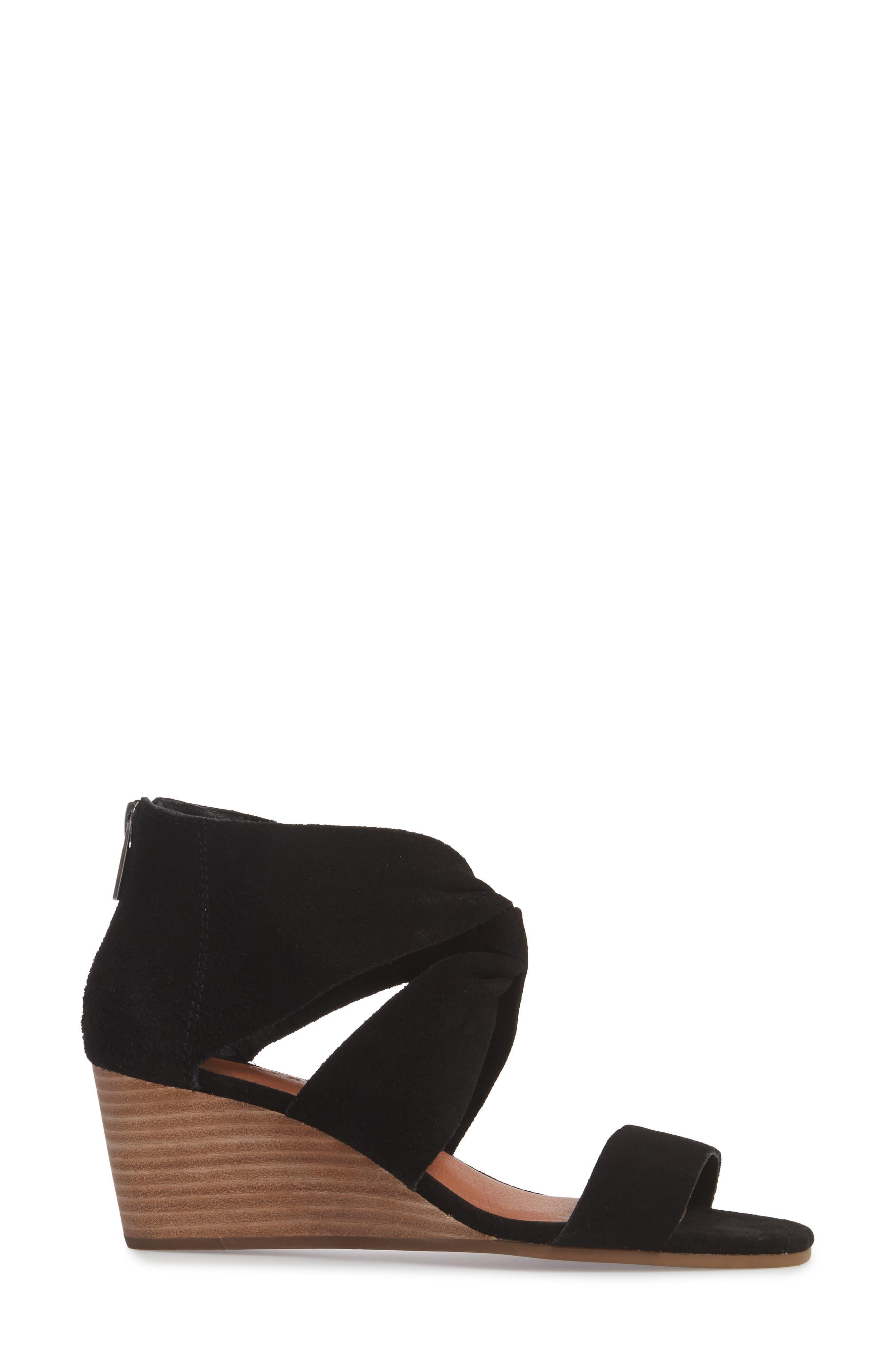 Alternate Image 3  - Lucky Brand Tammanee Wedge Sandal (Women)