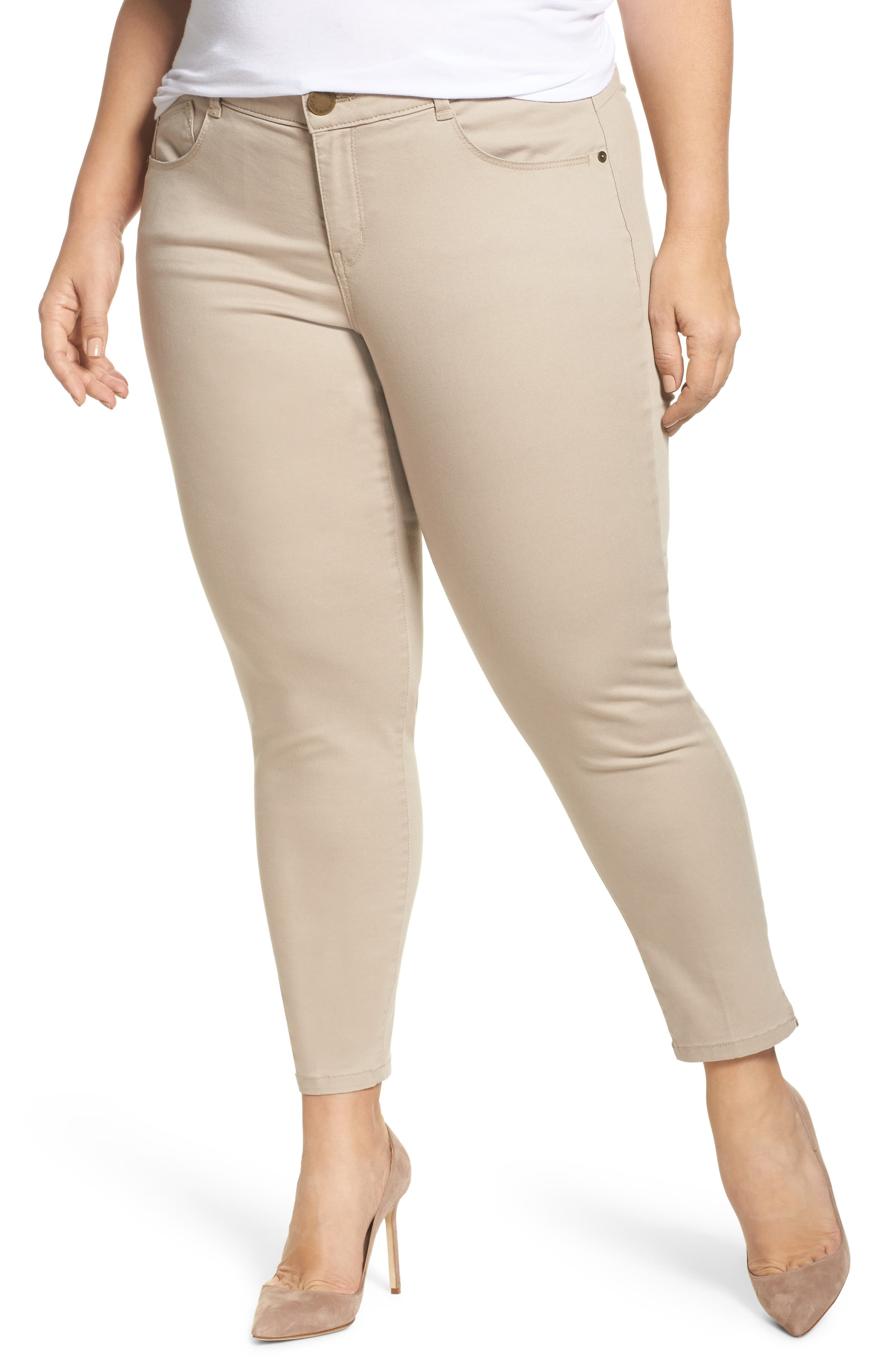 Ab-solution Ankle Pants,                             Main thumbnail 1, color,                             Flax