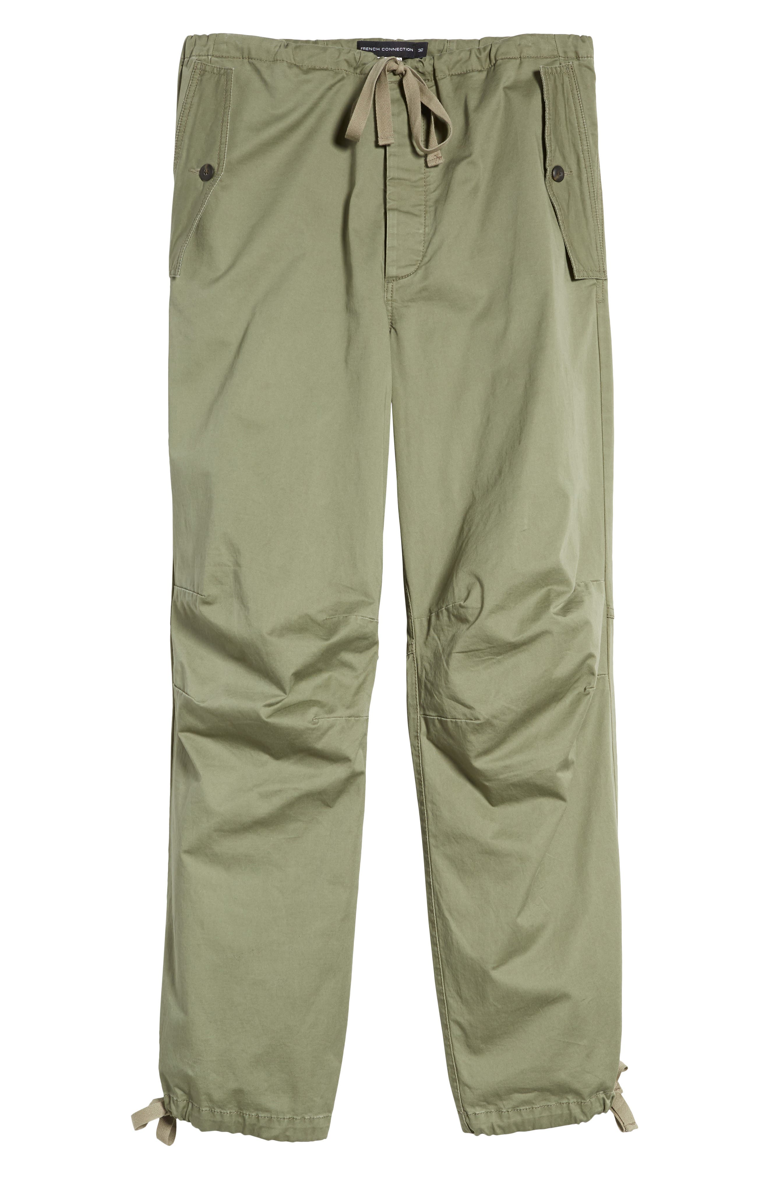 Military Broken Twill Pants,                             Alternate thumbnail 6, color,                             Deep Lichen Green
