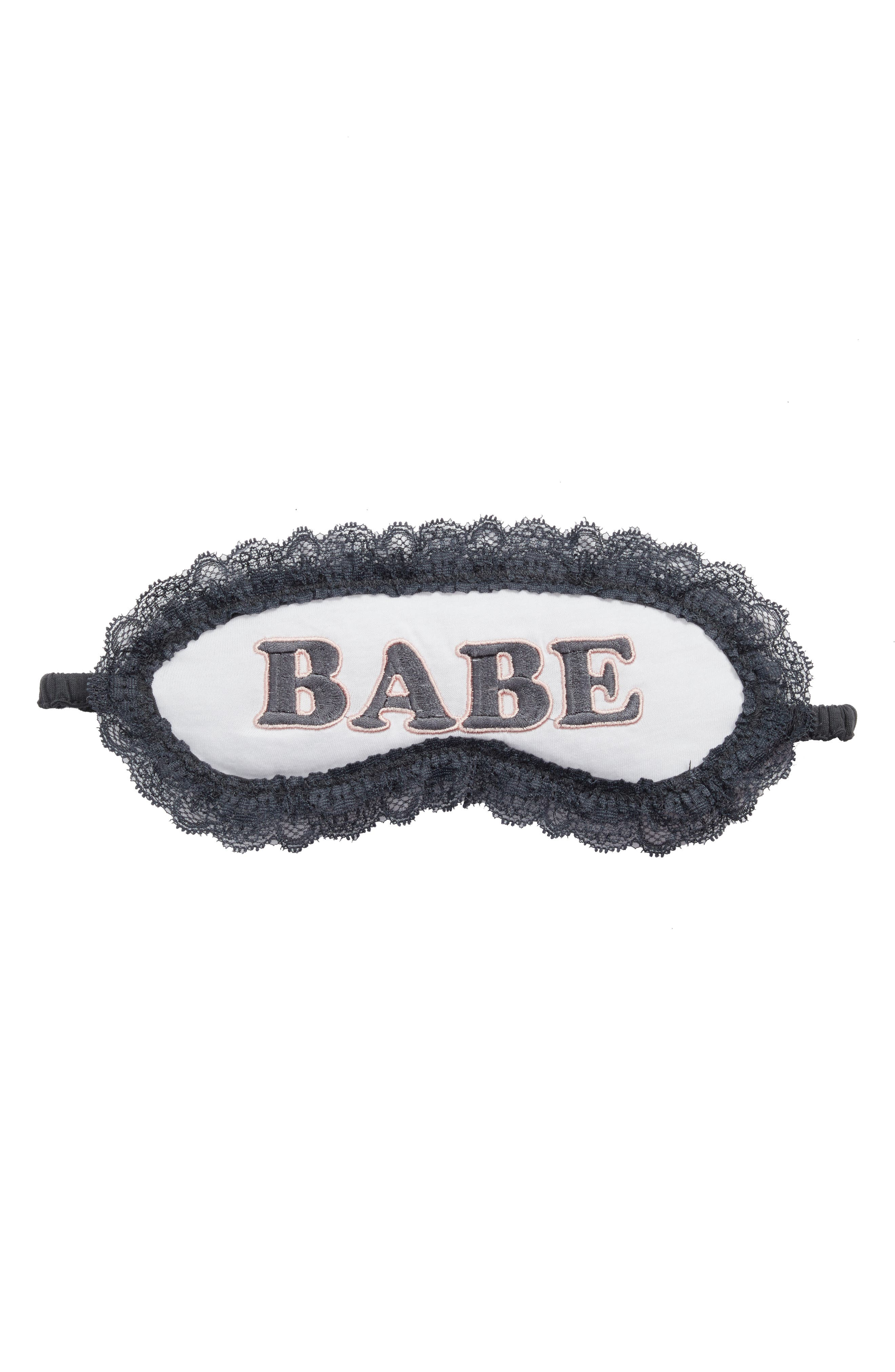 PJ Salvage Lace Trim Eye Mask (Nordstrom Exclusive)