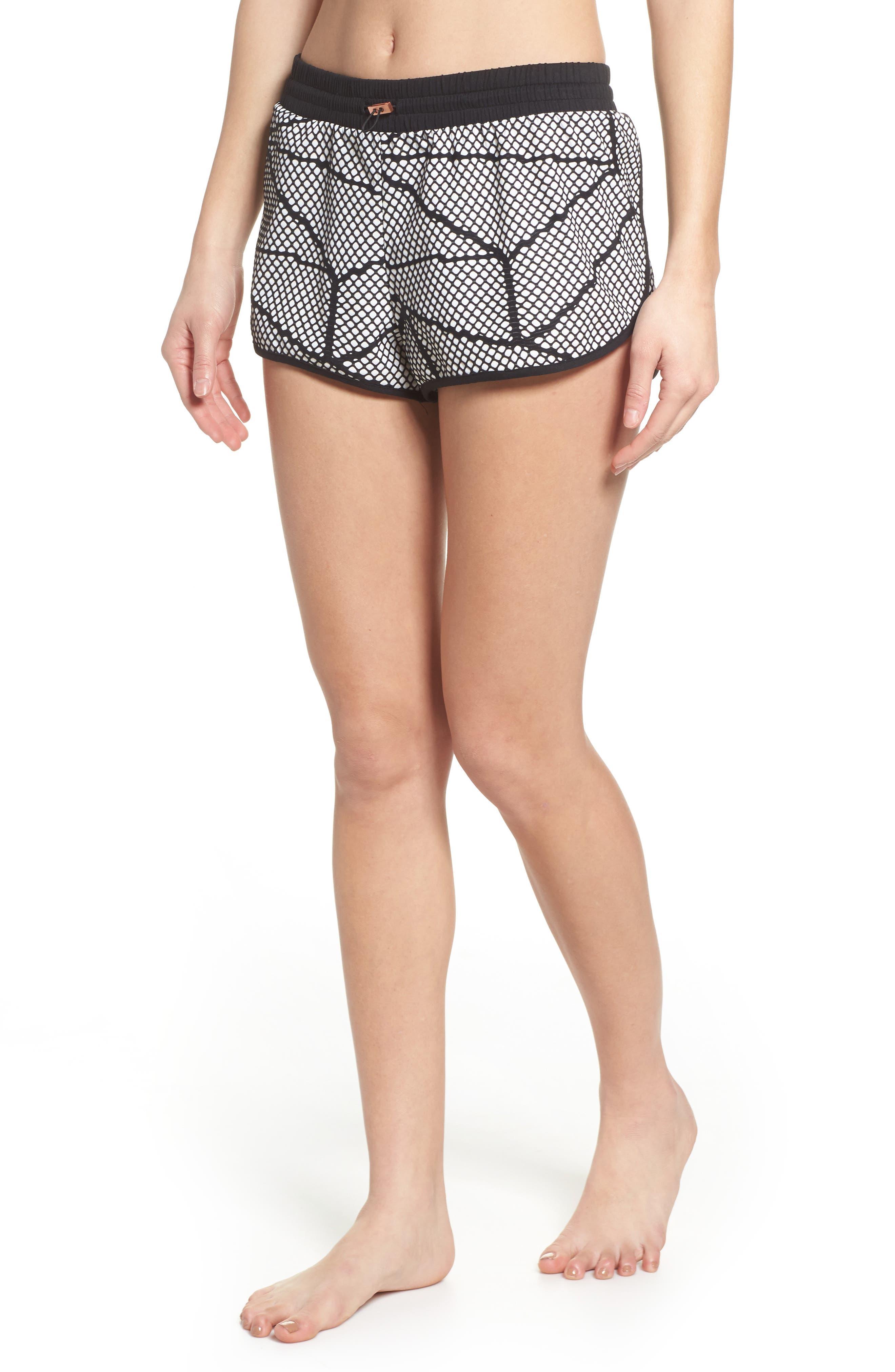 Chromatic Shorts,                         Main,                         color, Cr5048 Black-White Chromatic