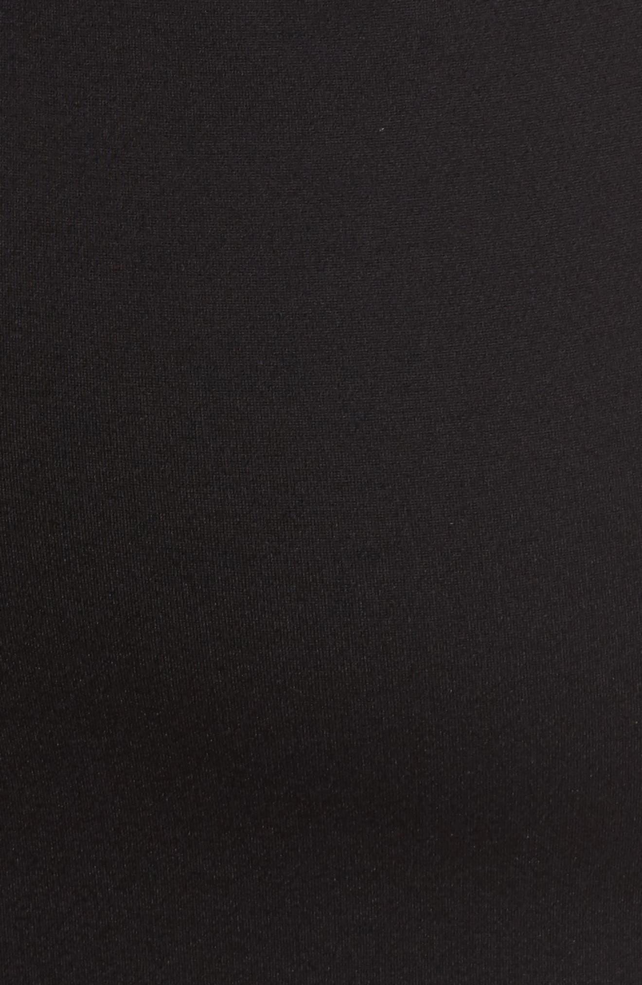 Carmen Sheath Dress,                             Alternate thumbnail 5, color,                             Black