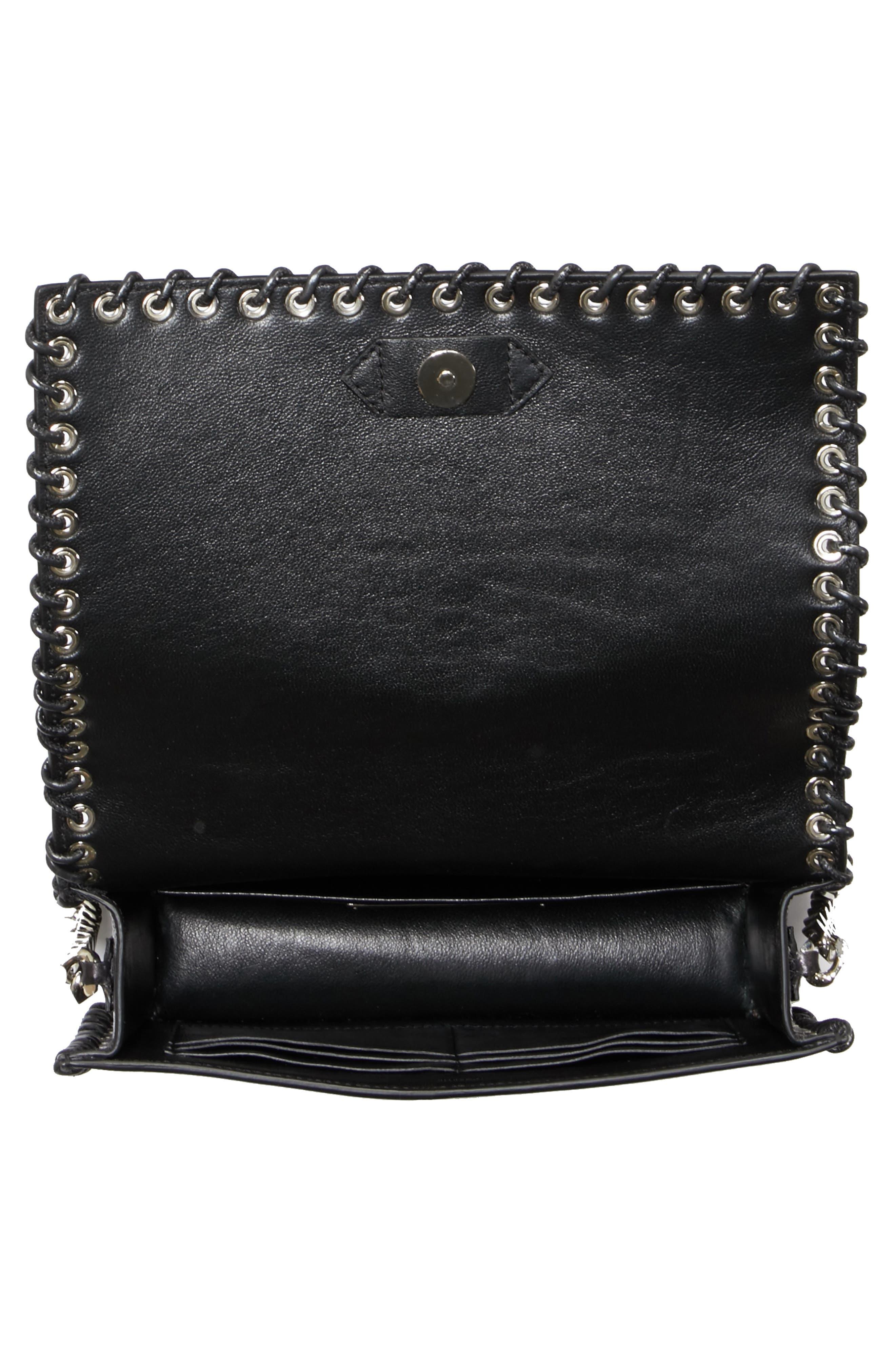 Alternate Image 4  - CALVIN KLEIN 205W39NYC Whipstitch Leather Shoulder Bag