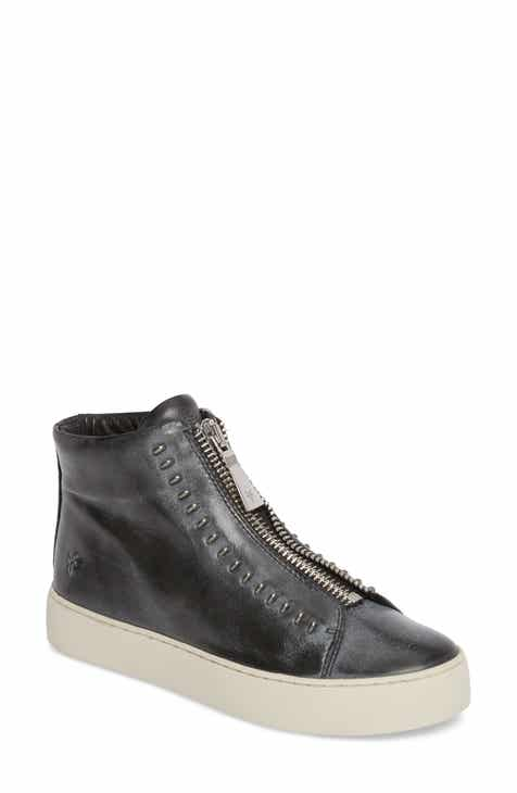 Frye Lena Rebel Zip High Top Sneaker (Women)