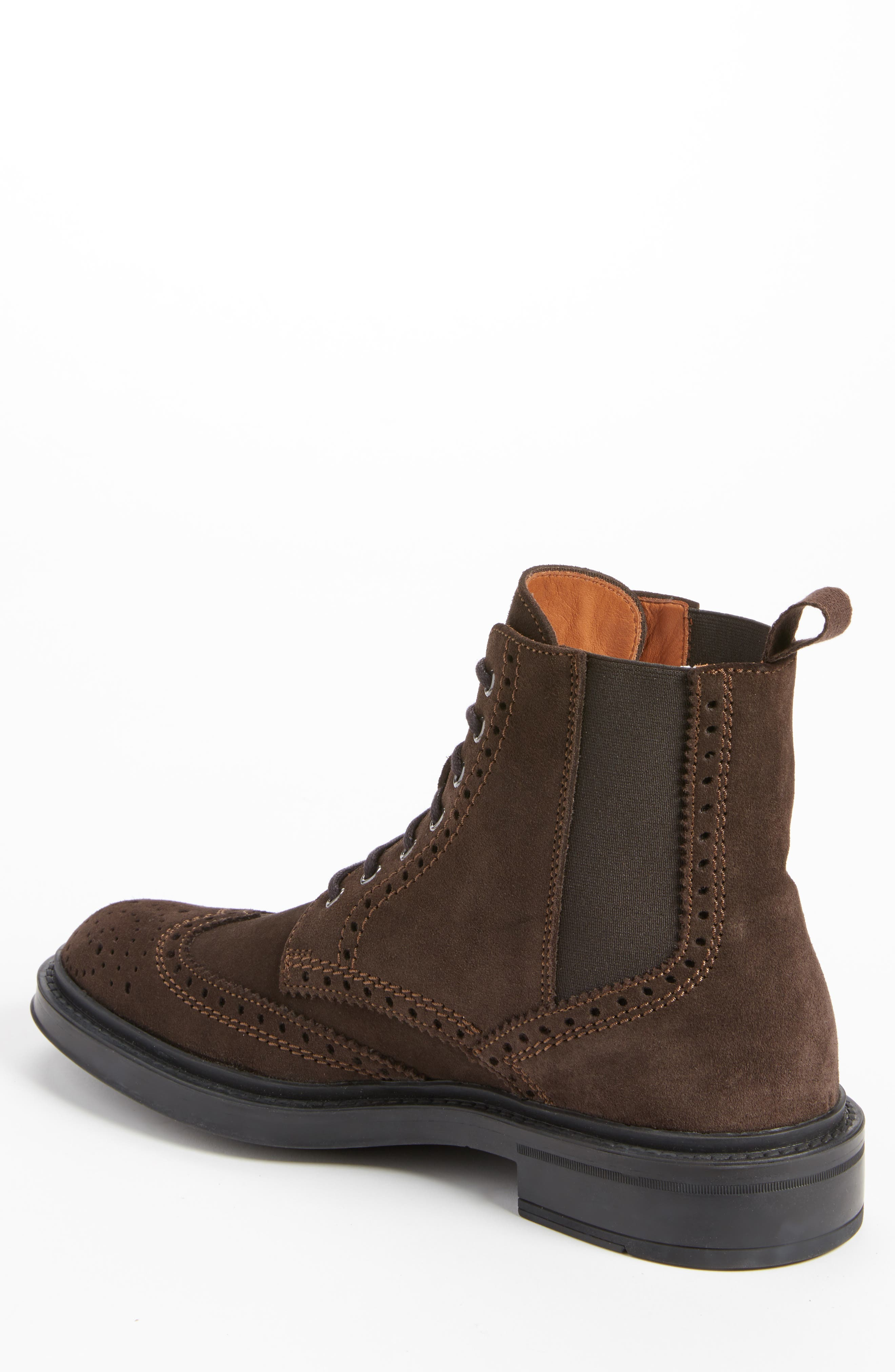 Alternate Image 2  - Aquatalia Lawrence Wingtip Boot (Men)