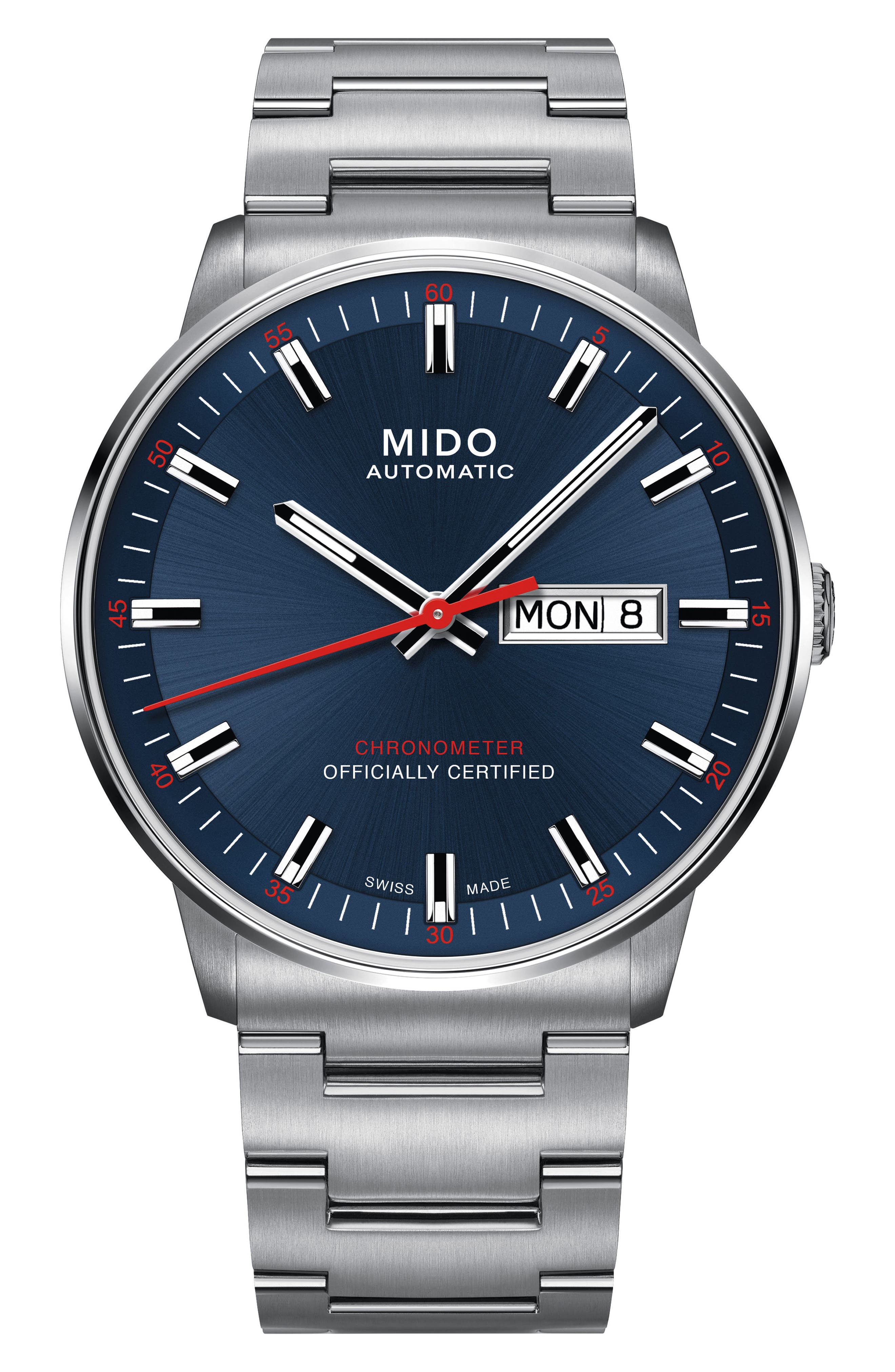Alternate Image 1 Selected - Mido Commander Chronometer Bracelet Watch, 40mm