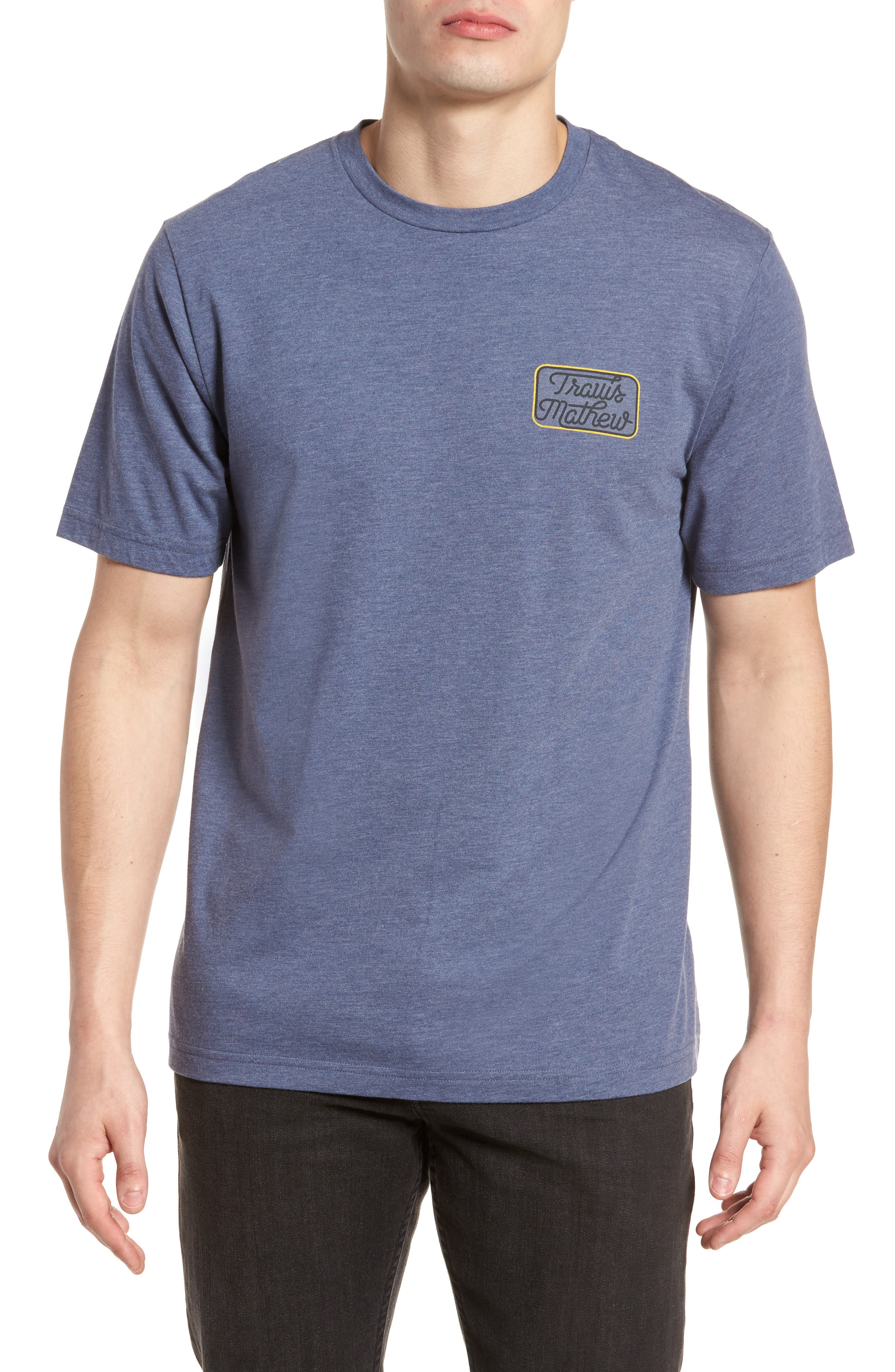 Truck Stop Graphic T-Shirt,                         Main,                         color, Blue Nights