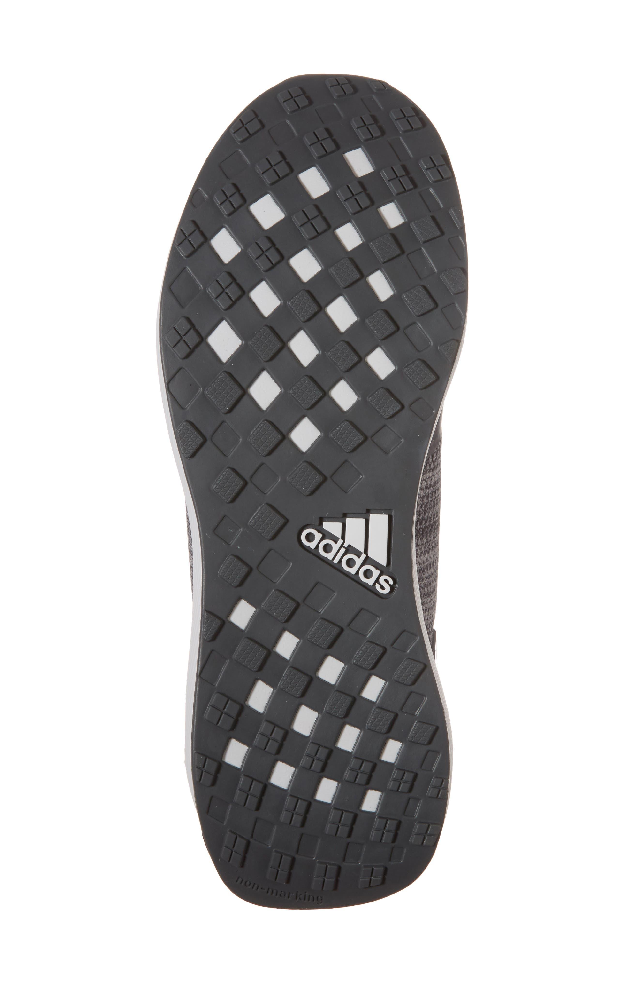 RapidaRun Uncaged Sneaker,                             Alternate thumbnail 5, color,                             Grey / Grey / Blue
