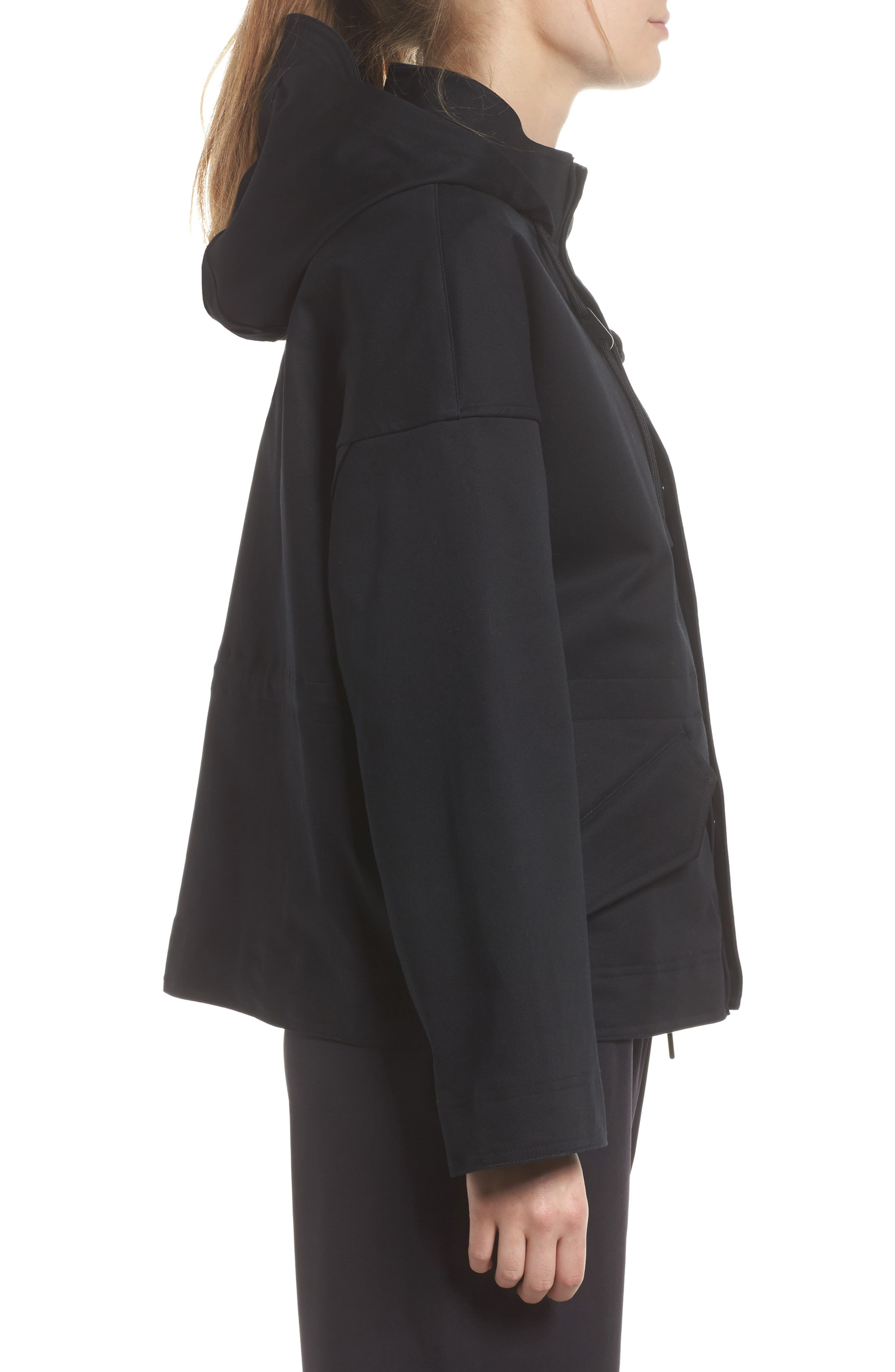 NikeLab Collection Women's Tactical Jacket,                             Alternate thumbnail 3, color,                             Black/ Black