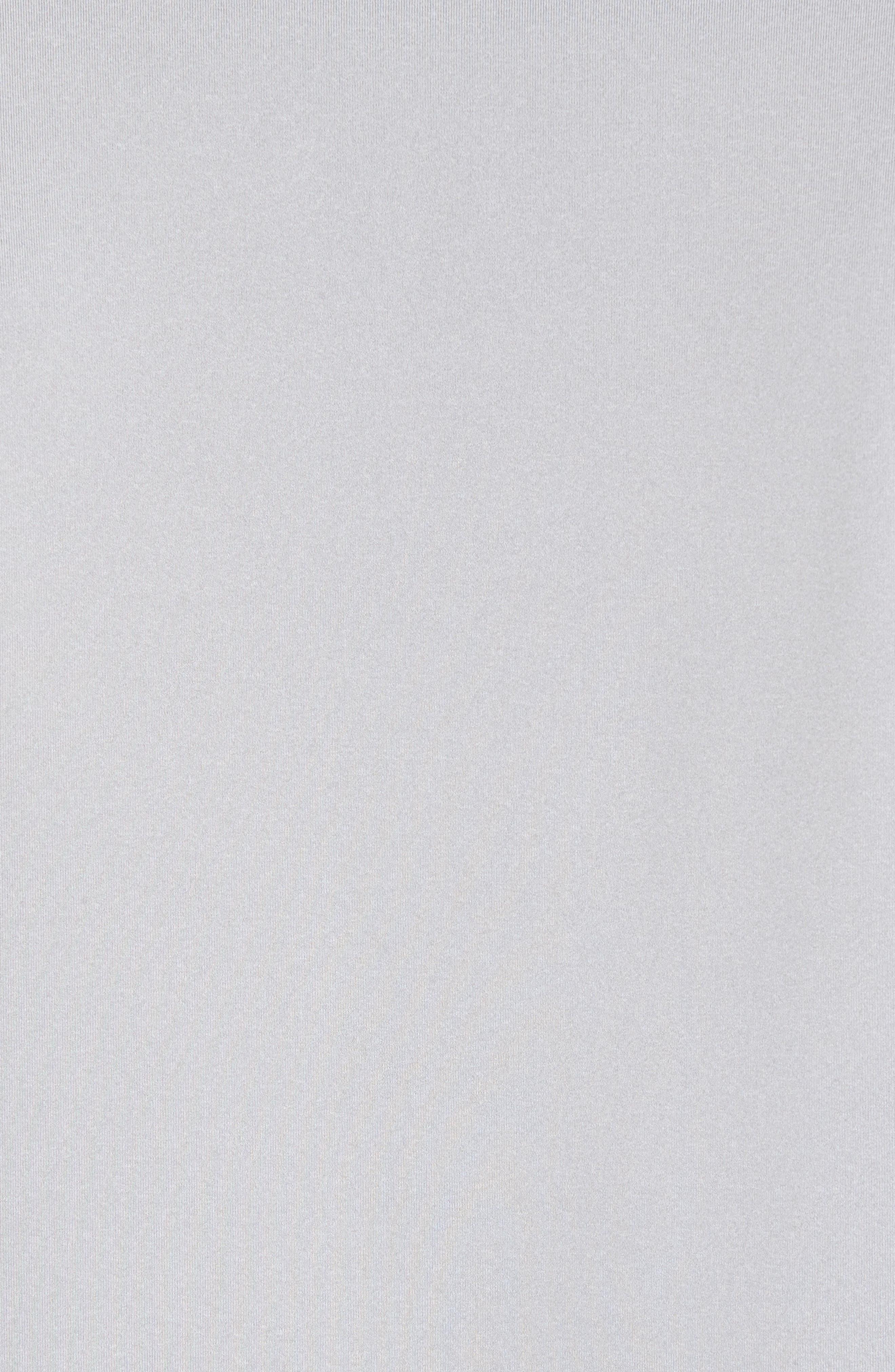 Heathered Long Sleeve Performance T-Shirt,                             Alternate thumbnail 5, color,                             Gray Heather