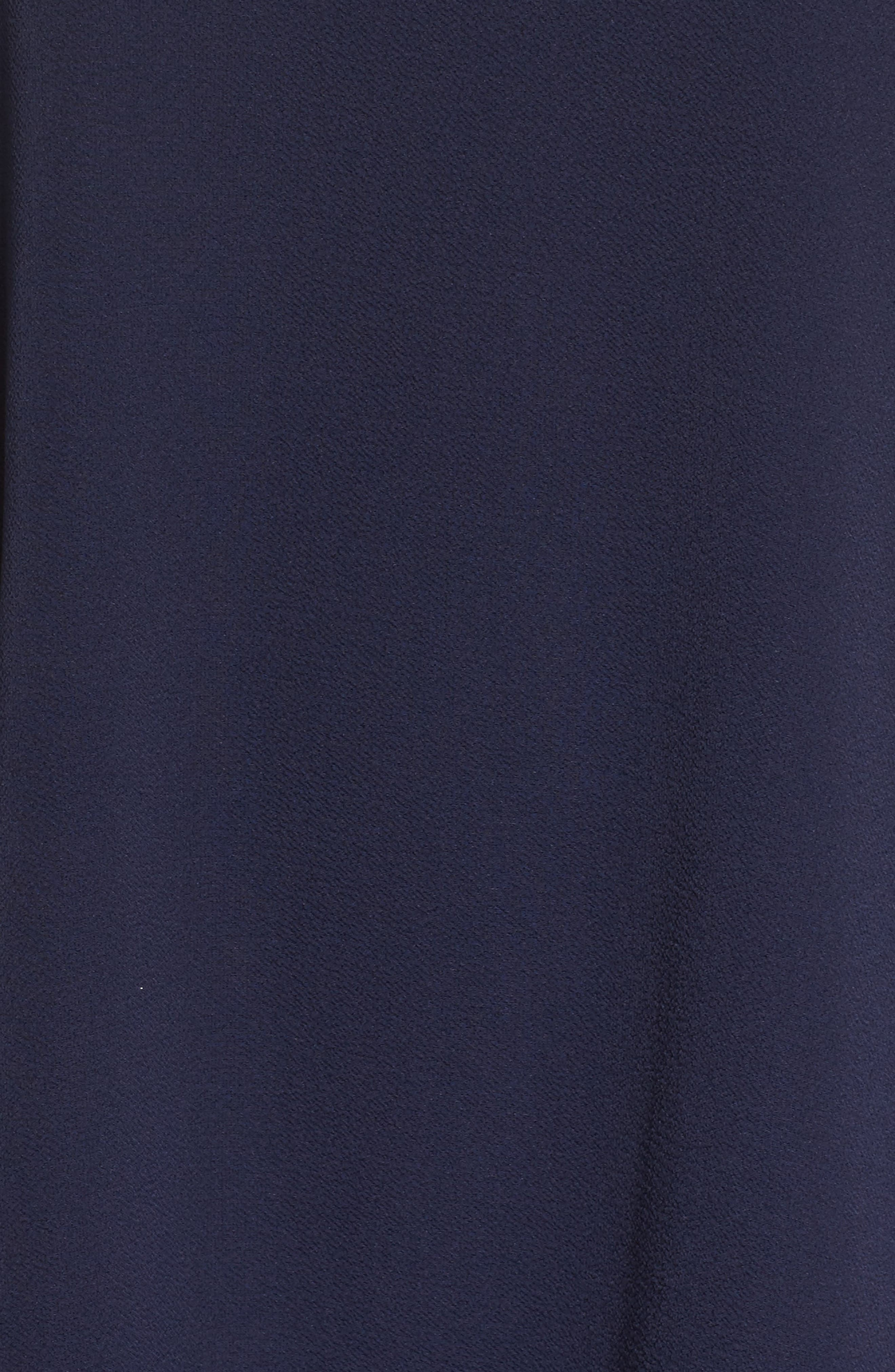 Shift Dress,                             Alternate thumbnail 5, color,                             Navy