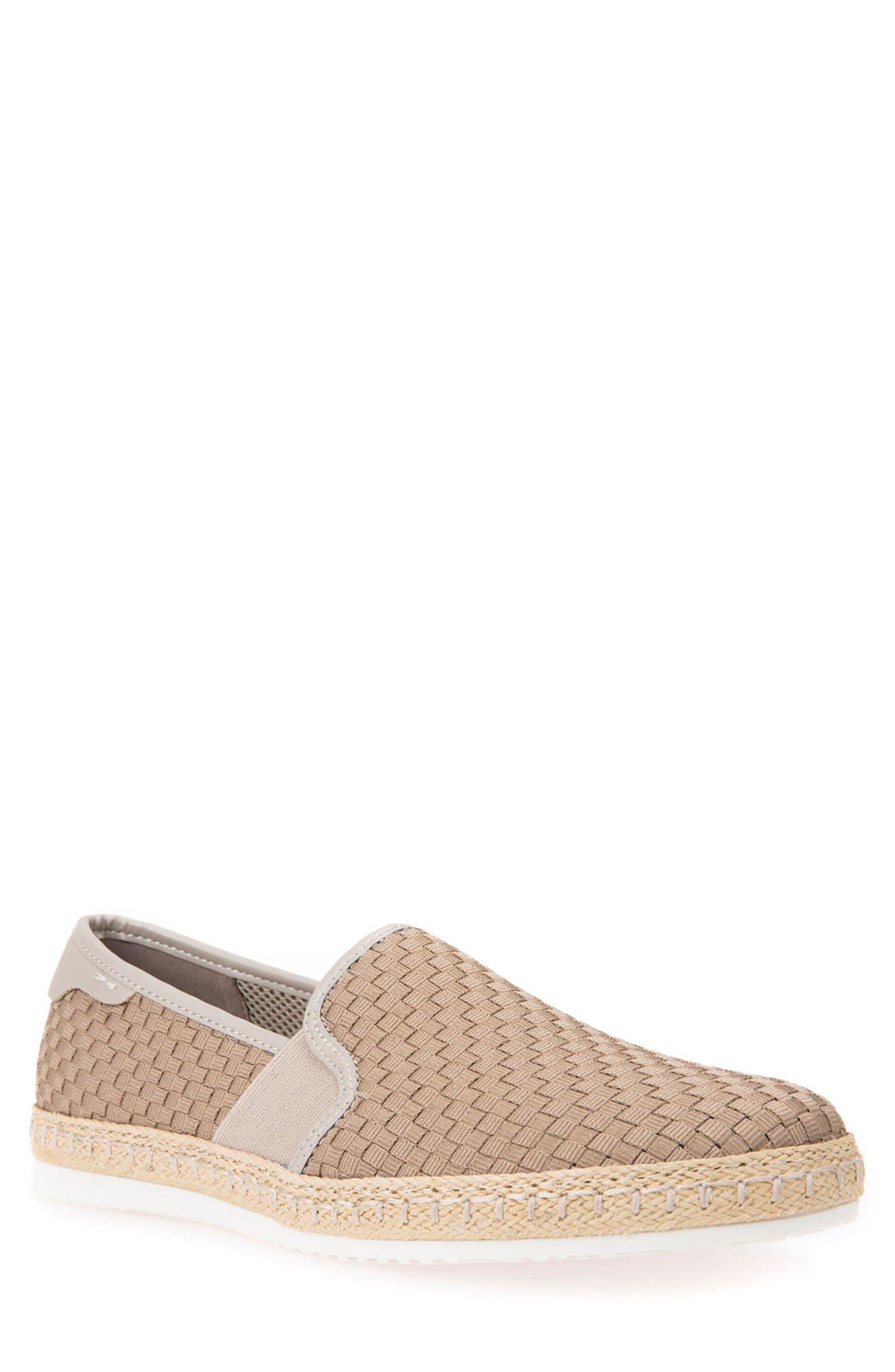 Copacaban 10 Woven Slip-On Sneaker,                         Main,                         color, Sand
