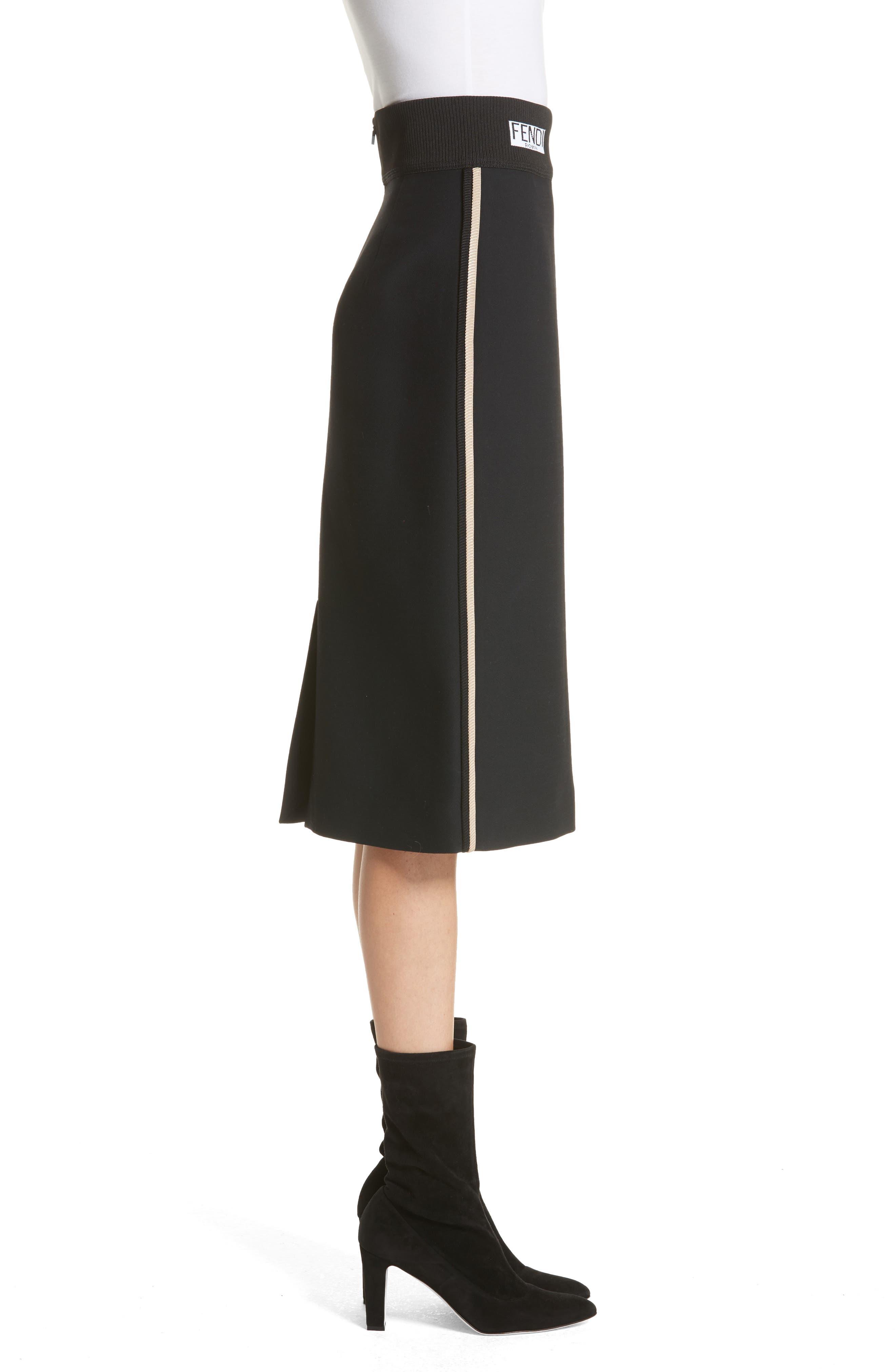 Alternate Image 3  - Fendi Wool & Silk Gazar Pencil Skirt