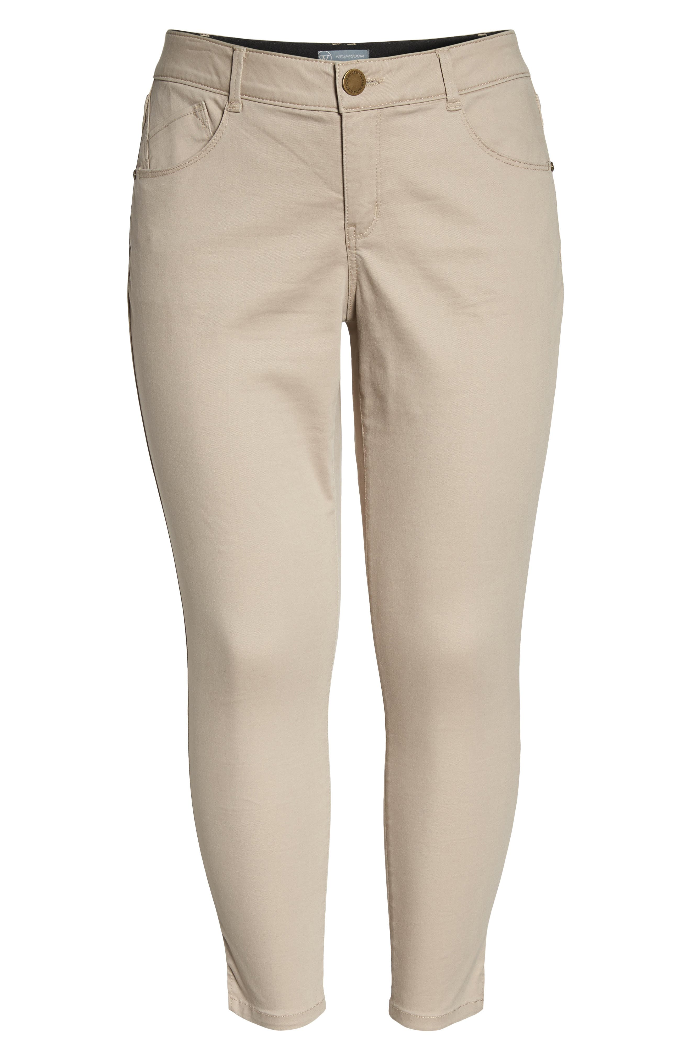 Ab-solution Ankle Pants,                             Alternate thumbnail 7, color,                             Flax