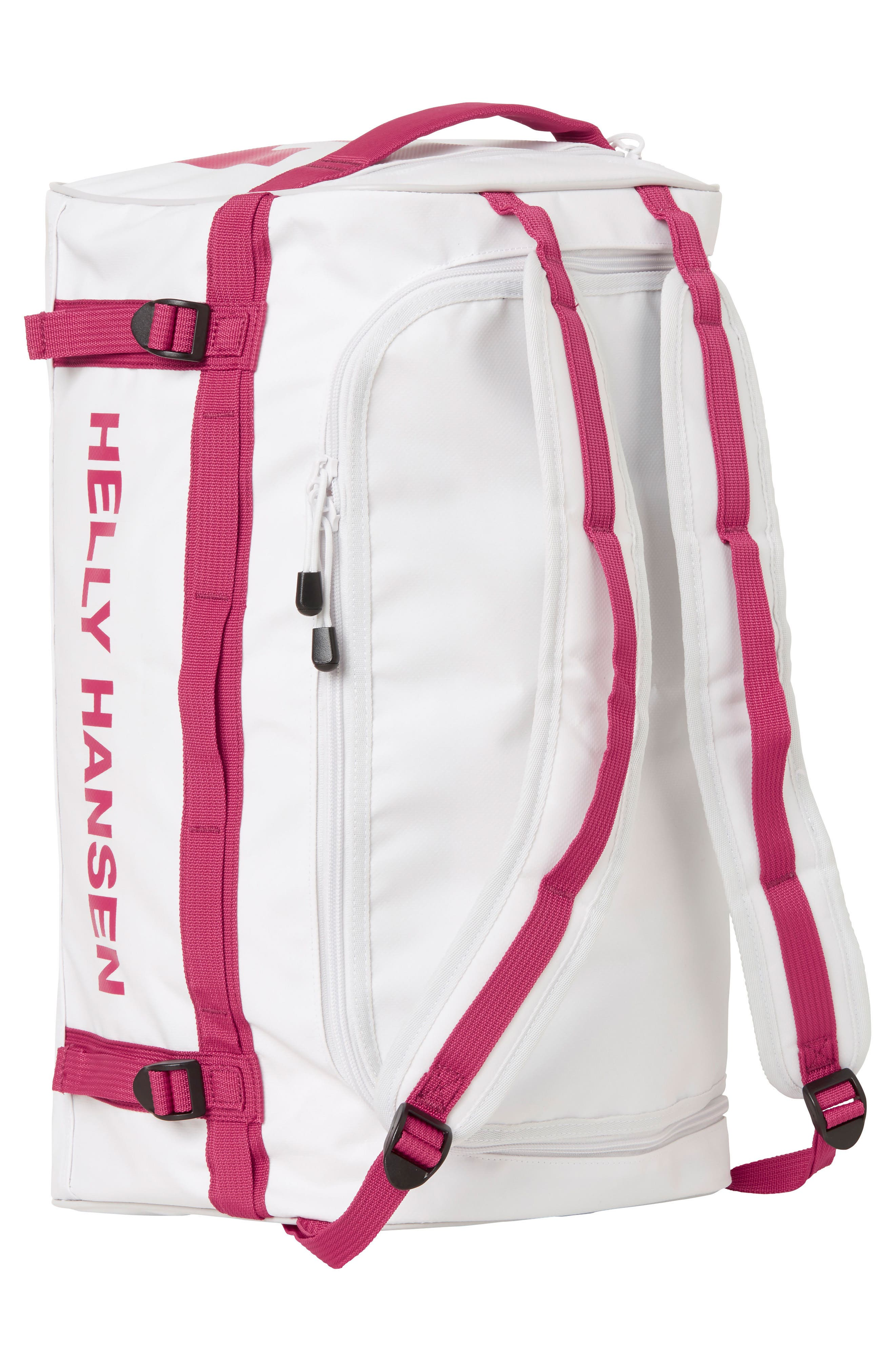 New Classic Extra Small Duffel Bag,                             Alternate thumbnail 2, color,                             White