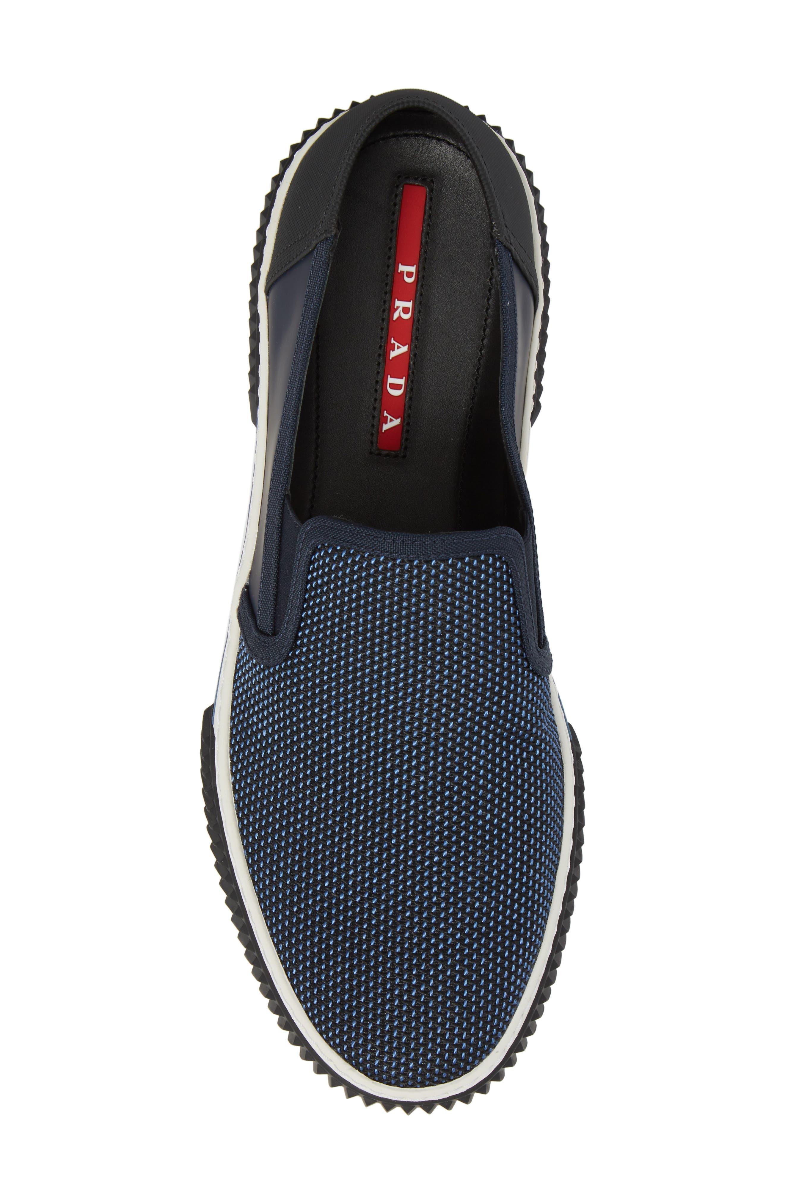 Linea Rossa Skate Slip-On,                             Alternate thumbnail 5, color,                             Baltic Blue