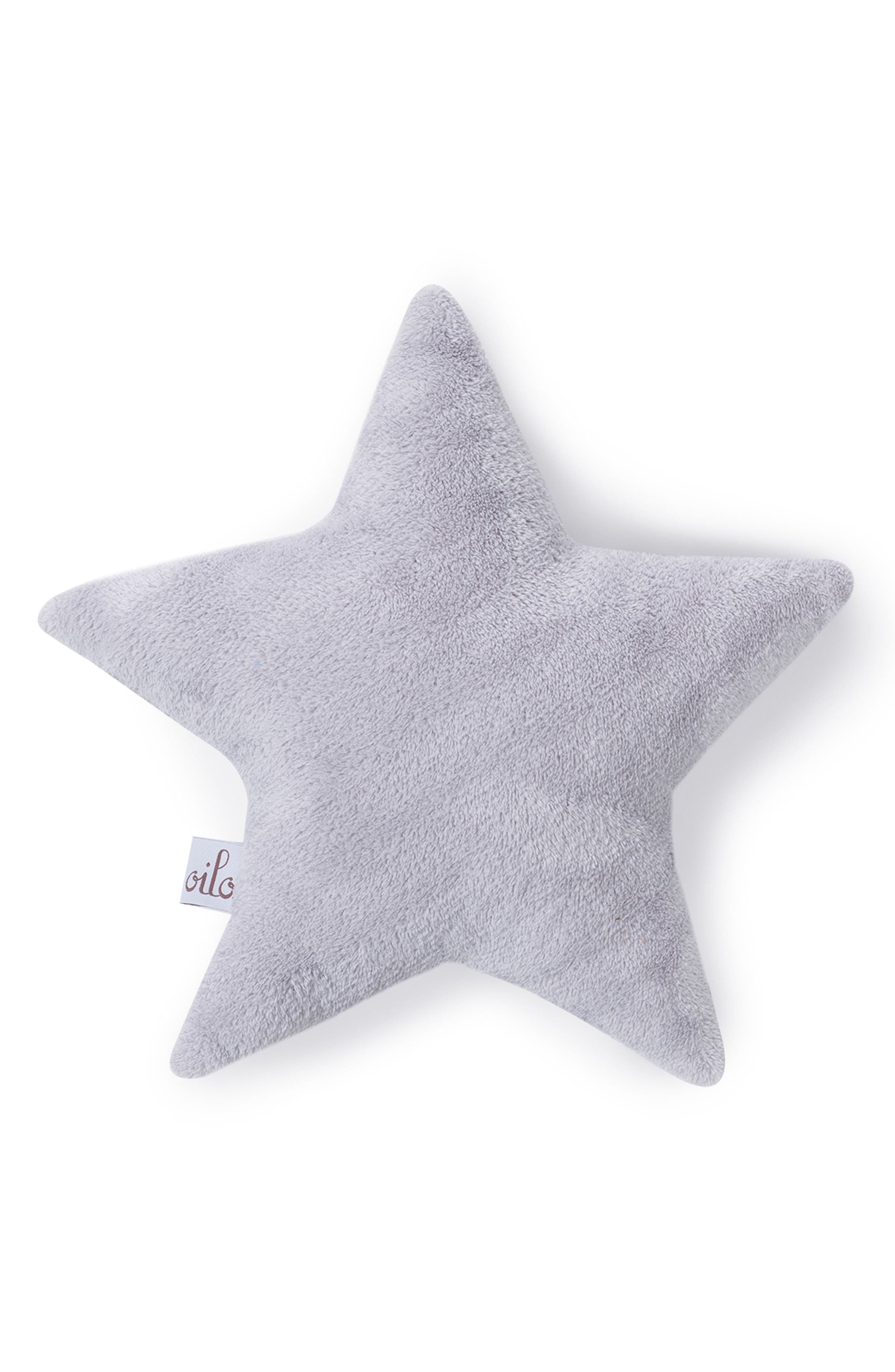 Silver Star & White Cloud Pillow Set,                             Alternate thumbnail 2, color,                             Fawn