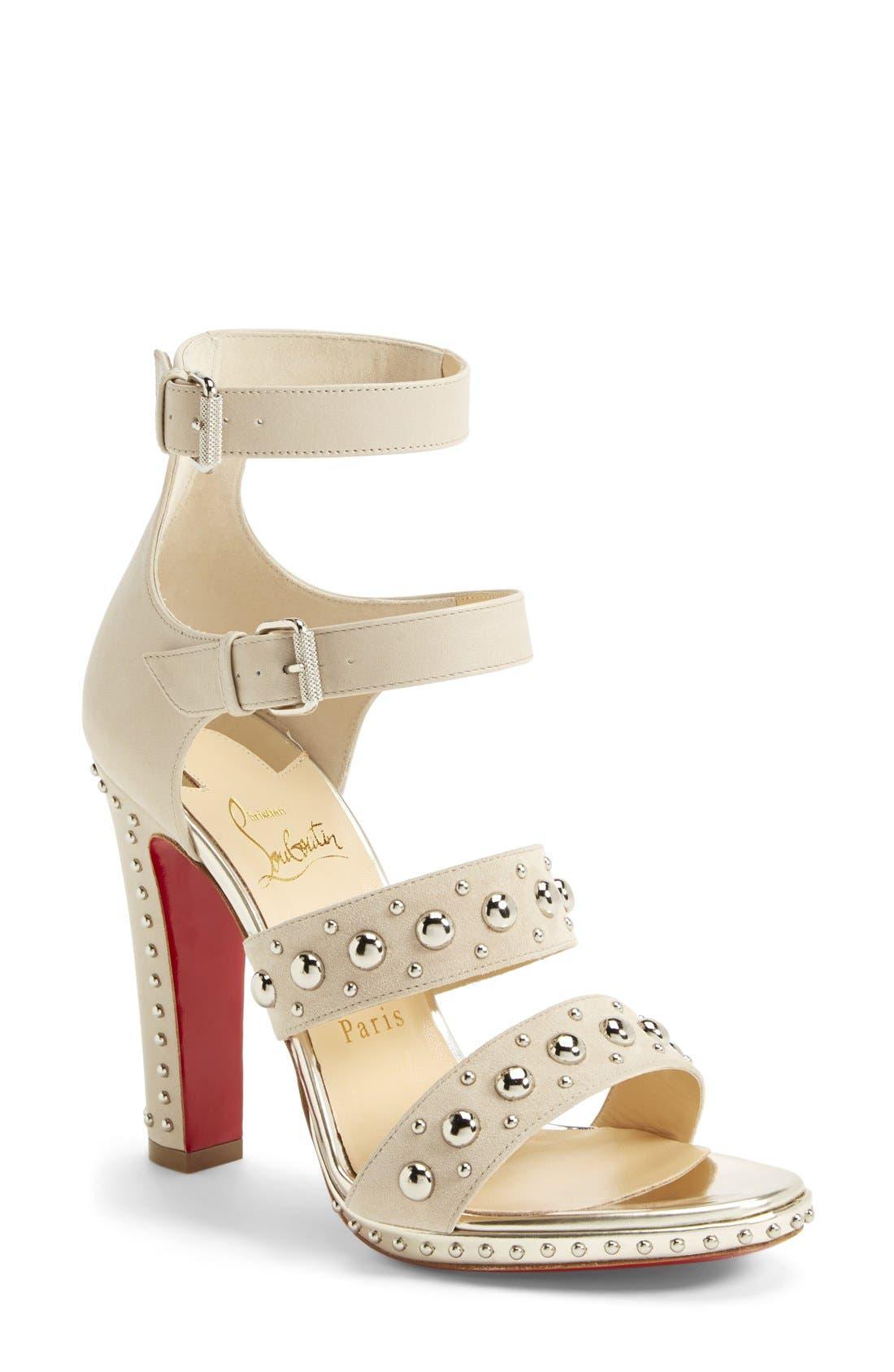 Alternate Image 1 Selected - Christian Louboutin Studded Sandal