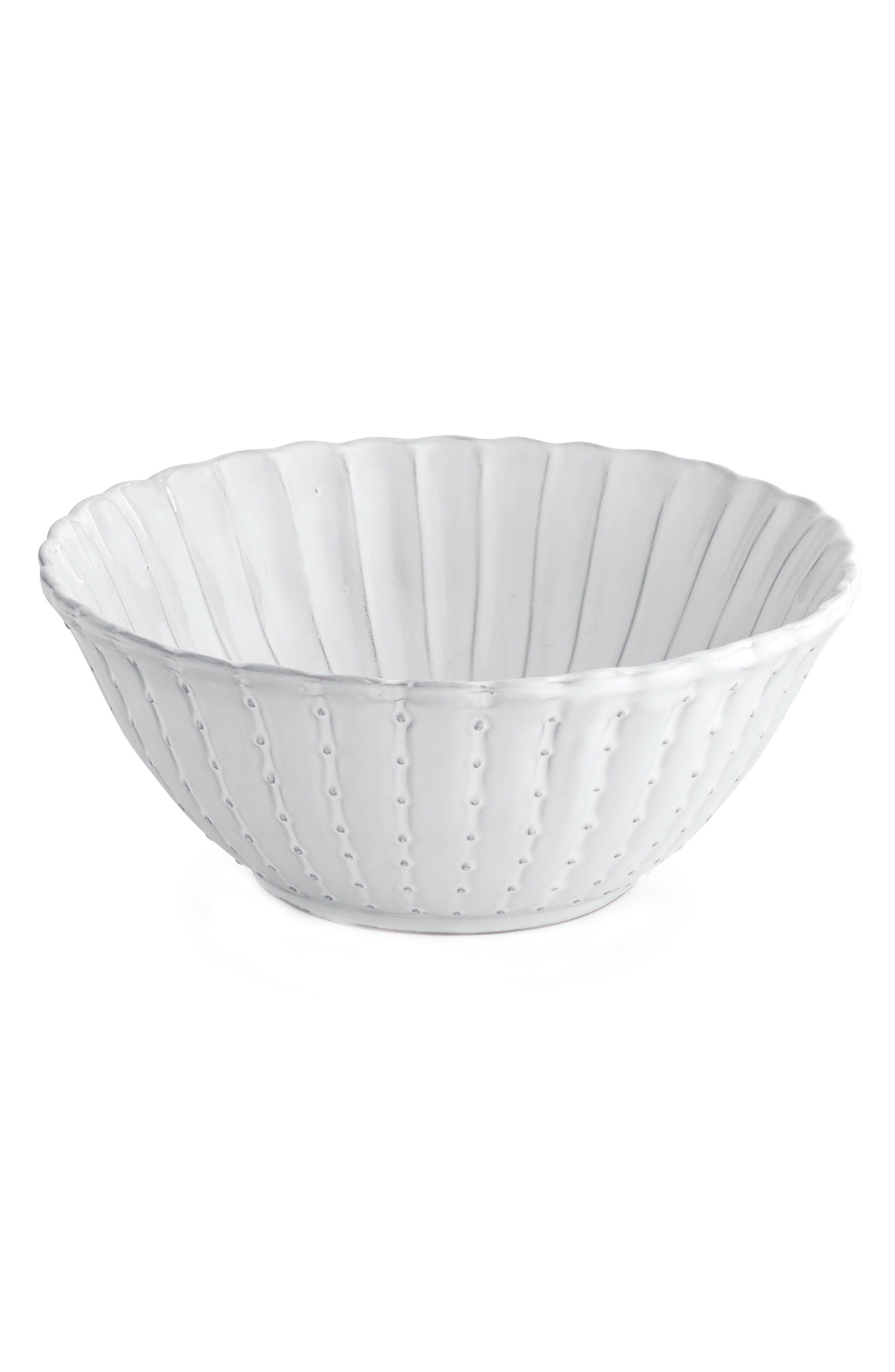 Arte Italica Bella Bianca Small Stoneware Bowl