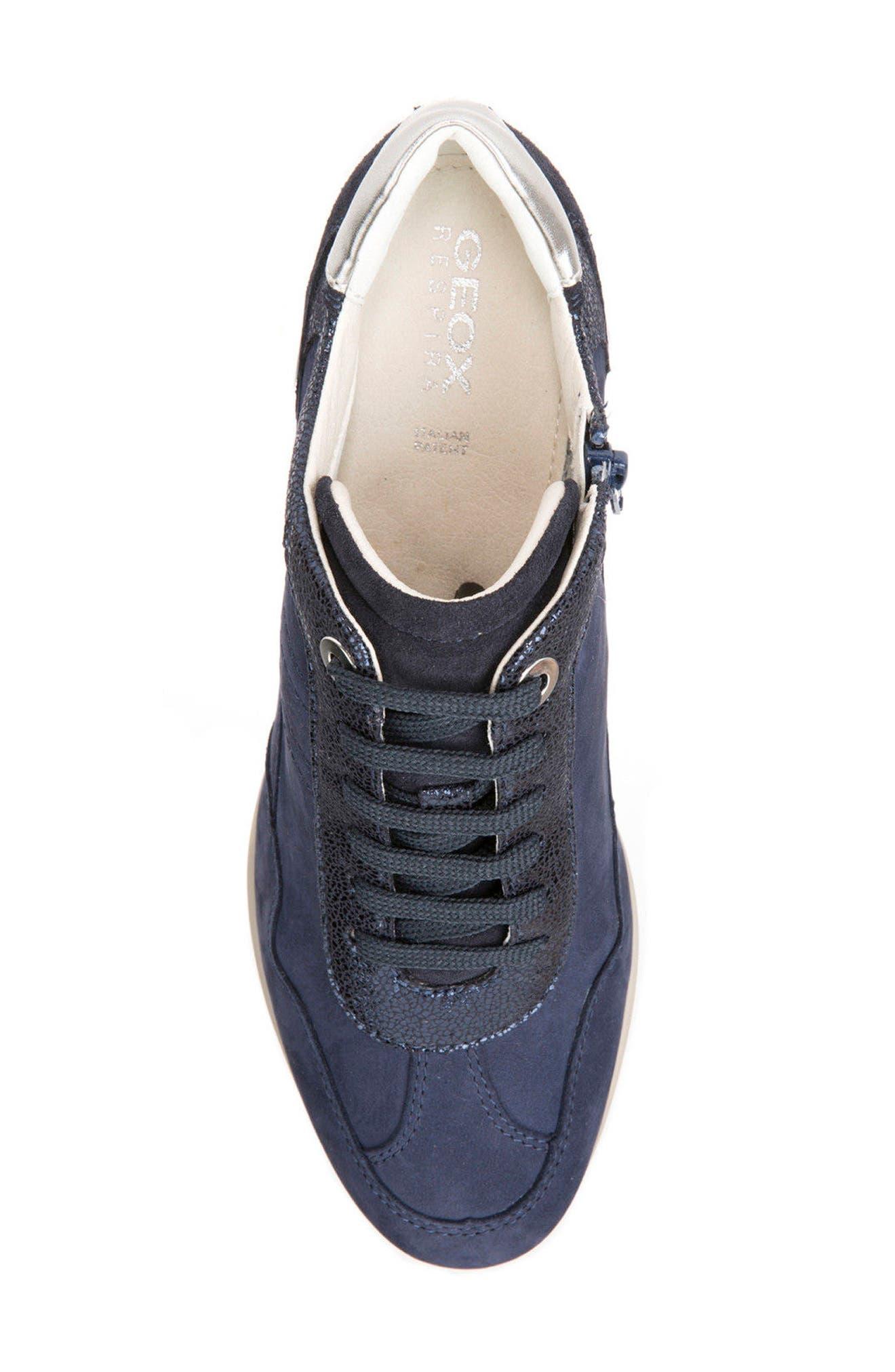 Alternate Image 5  - Geox Illusion 34 Wedge Sneaker (Women)