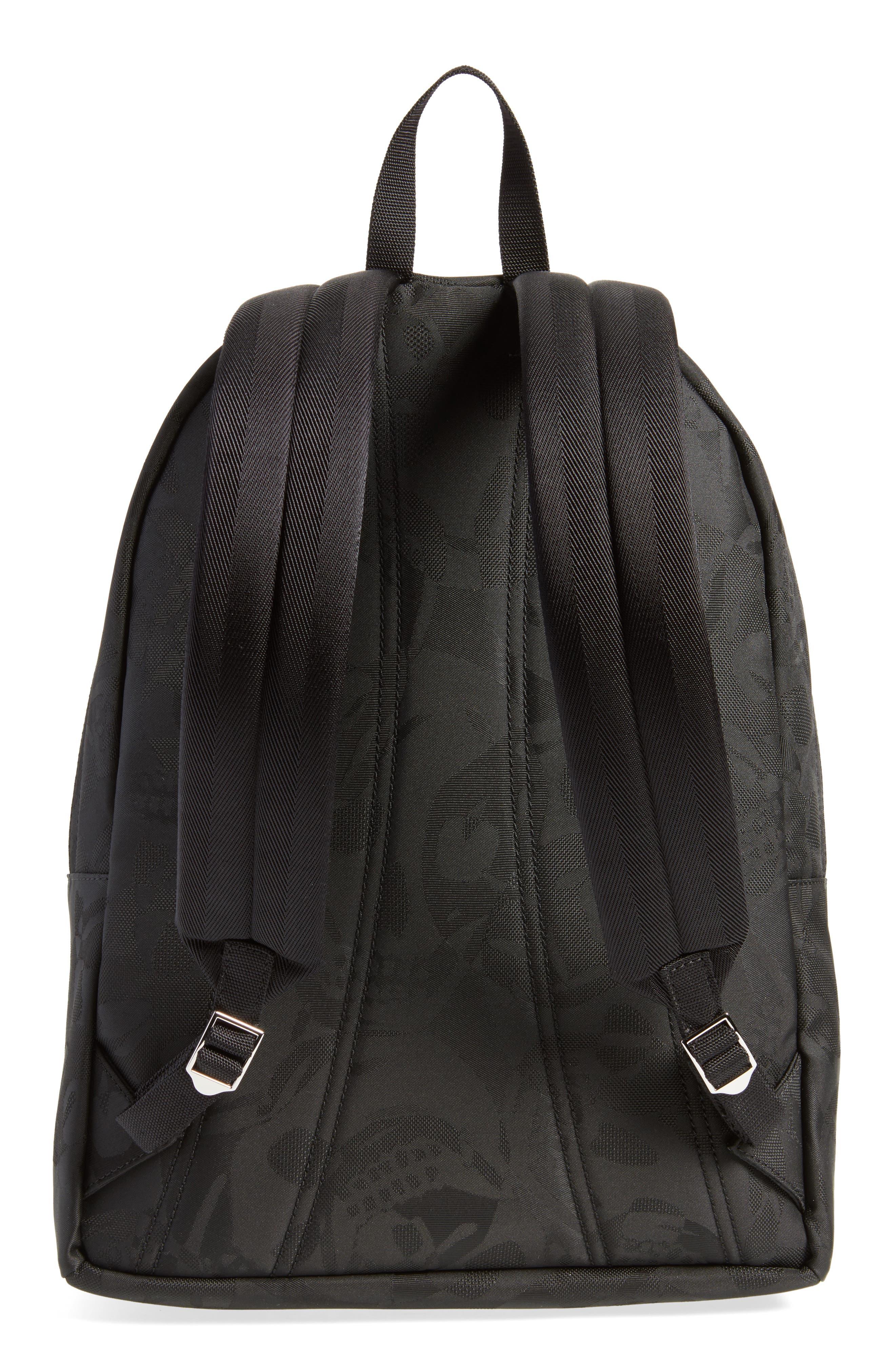 Small Backpack,                             Alternate thumbnail 3, color,                             Black