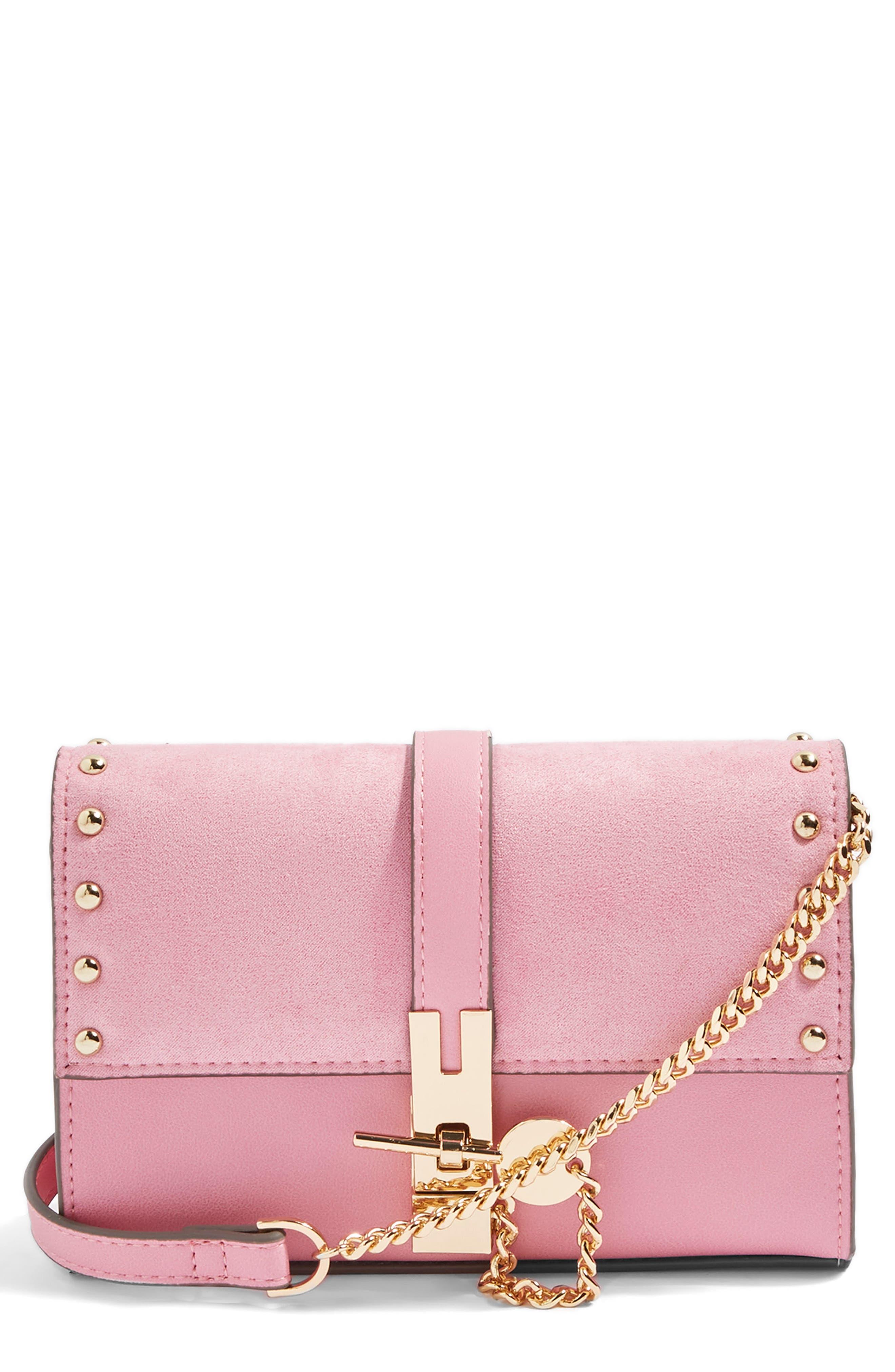 Topshop Rhonda Keylock Crossbody Bag