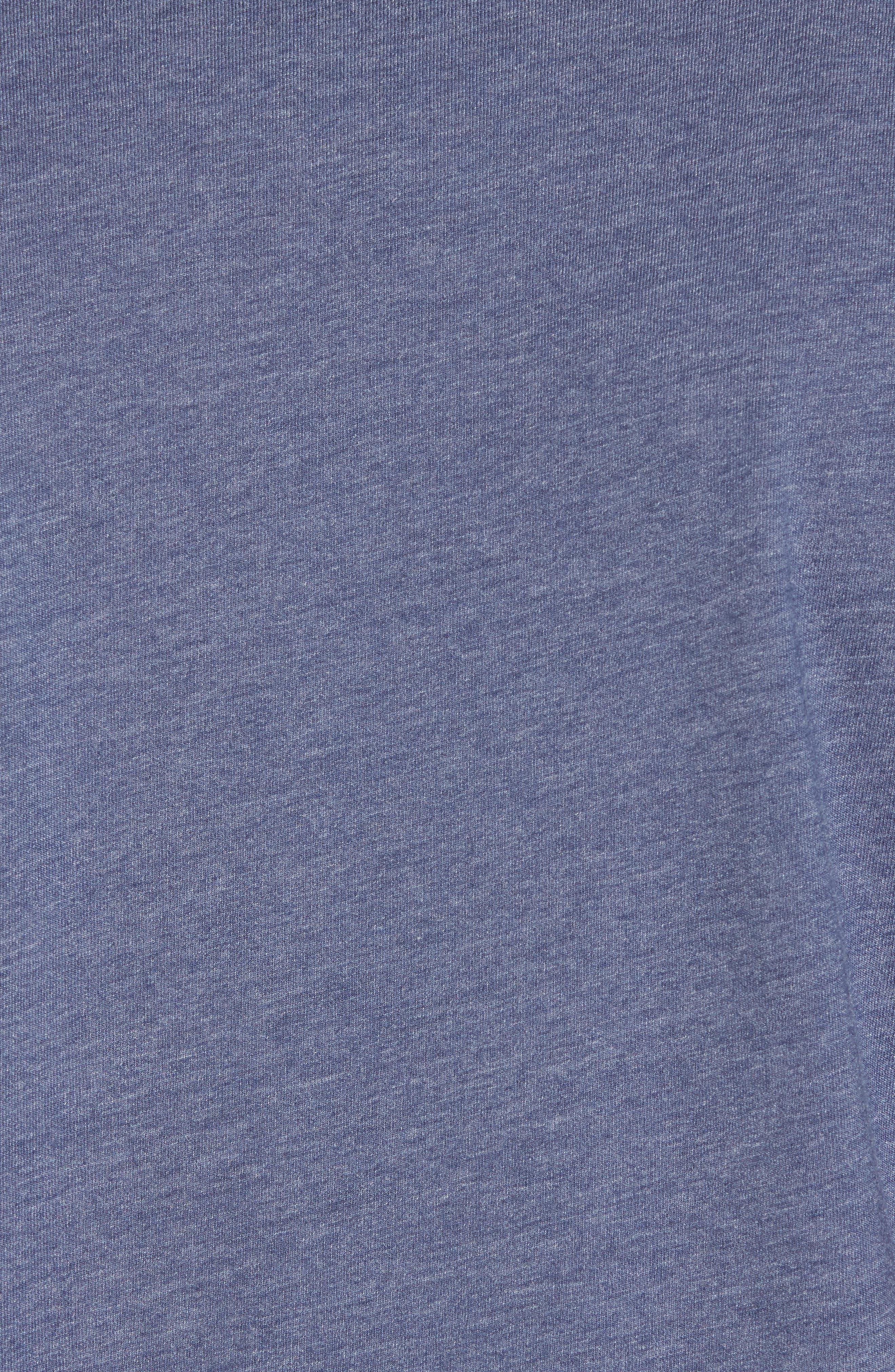 Drebo Graphic T-Shirt,                             Alternate thumbnail 5, color,                             Heather Blue Nights