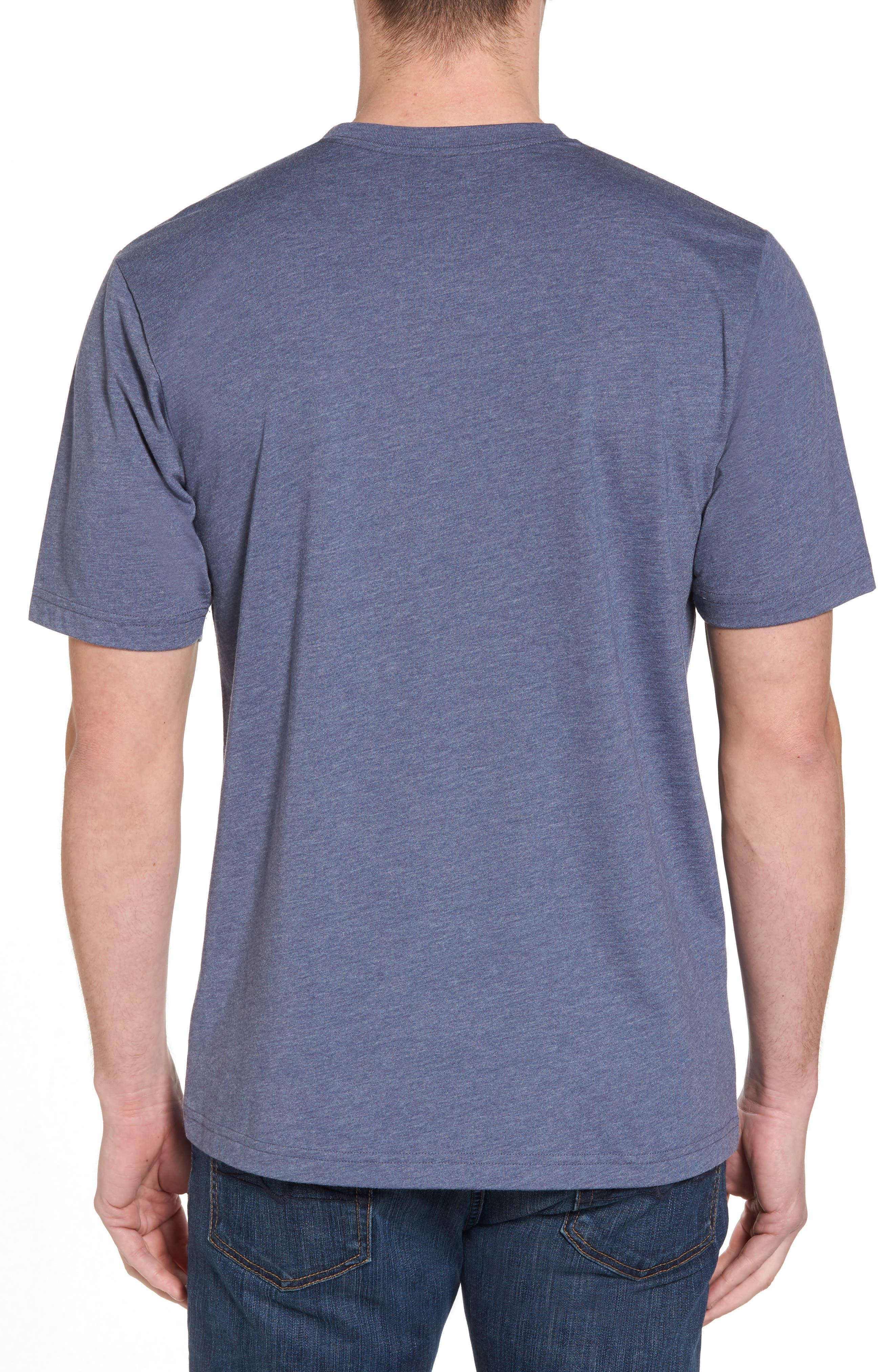 Drebo Graphic T-Shirt,                             Alternate thumbnail 2, color,                             Heather Blue Nights