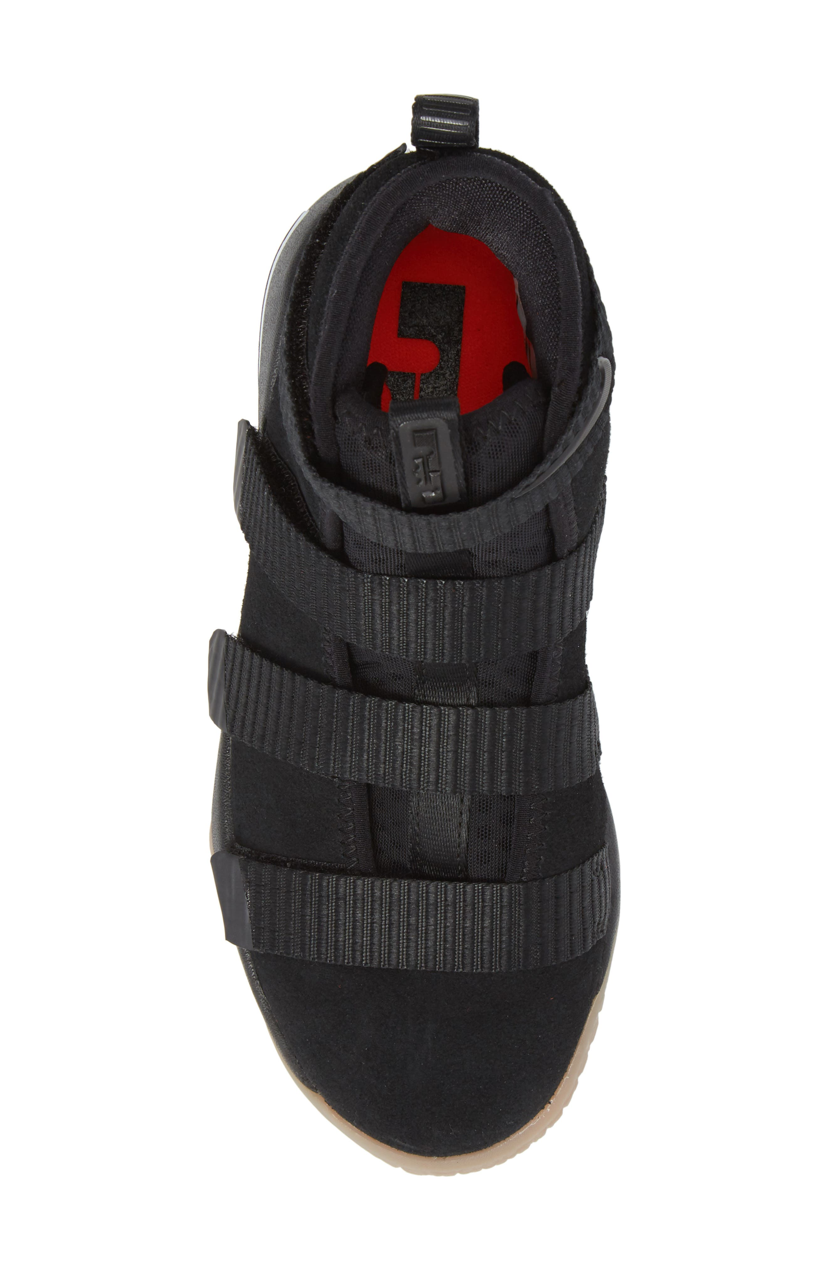 Alternate Image 5  - Nike LeBron Soldier XI Basketball Shoe (Toddler, Little Kid & Big Kid)