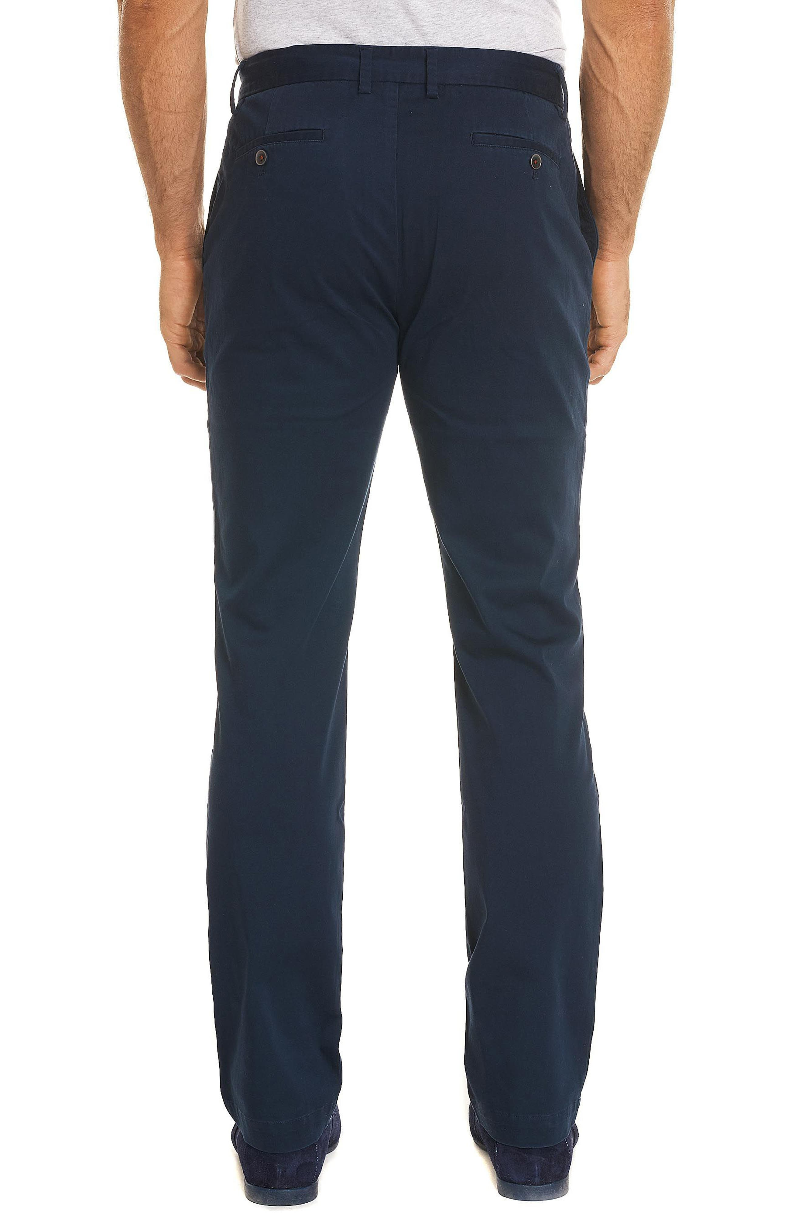 Burton Tailored Fit Pants,                             Alternate thumbnail 2, color,                             Navy