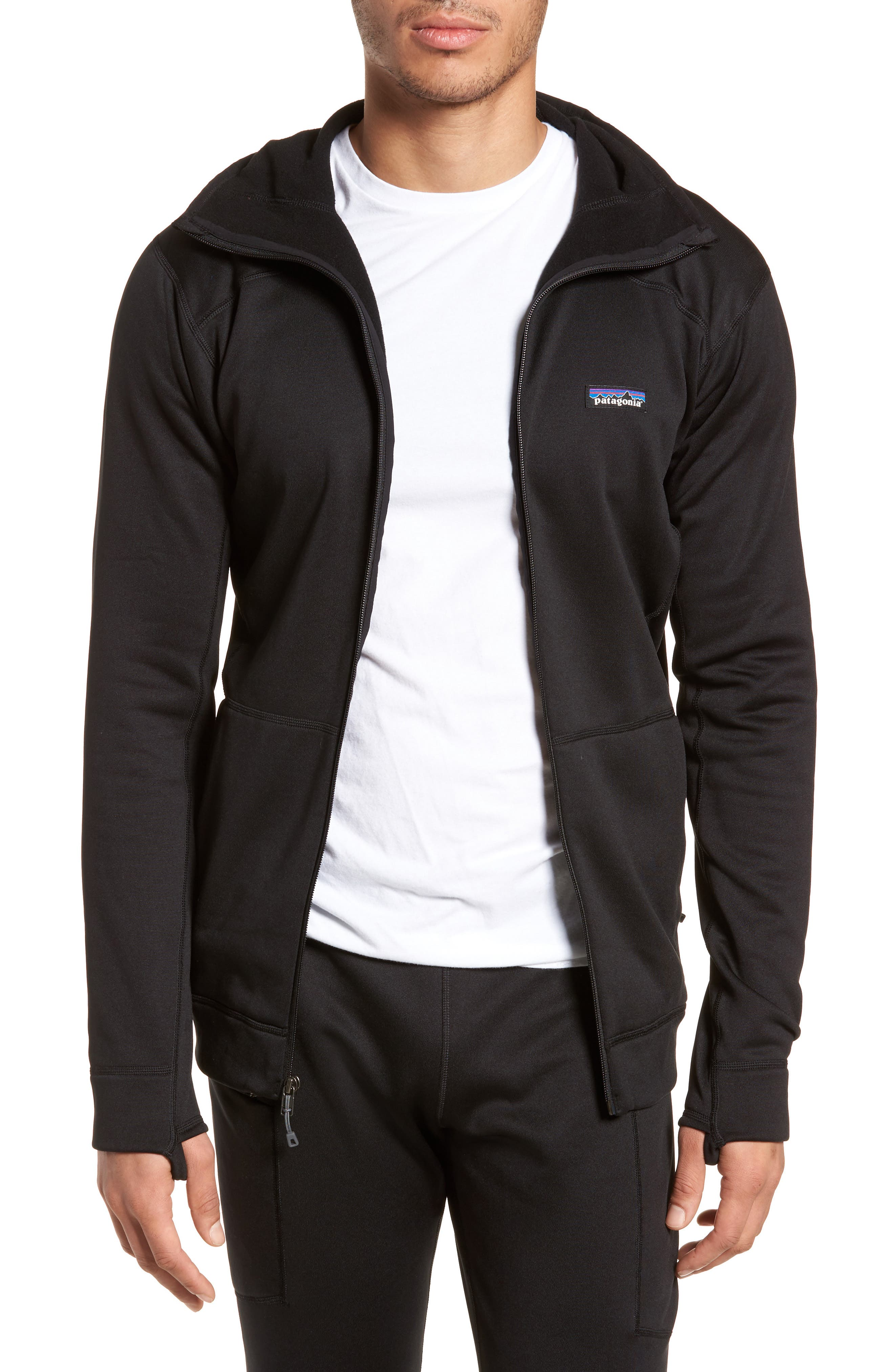 M's Crosstrek Zip Hoodie,                             Main thumbnail 1, color,                             Black
